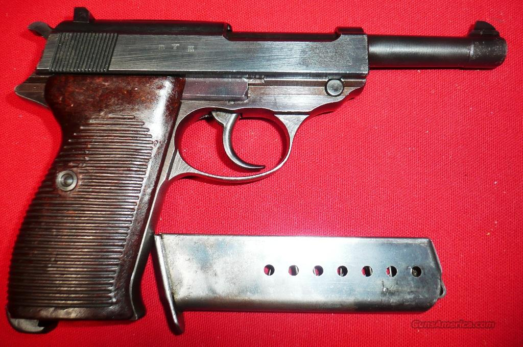 WALTHER  P38   ac44   WW2 9MM  PISTOL   Guns > Pistols > Military Misc. Pistols Non-US