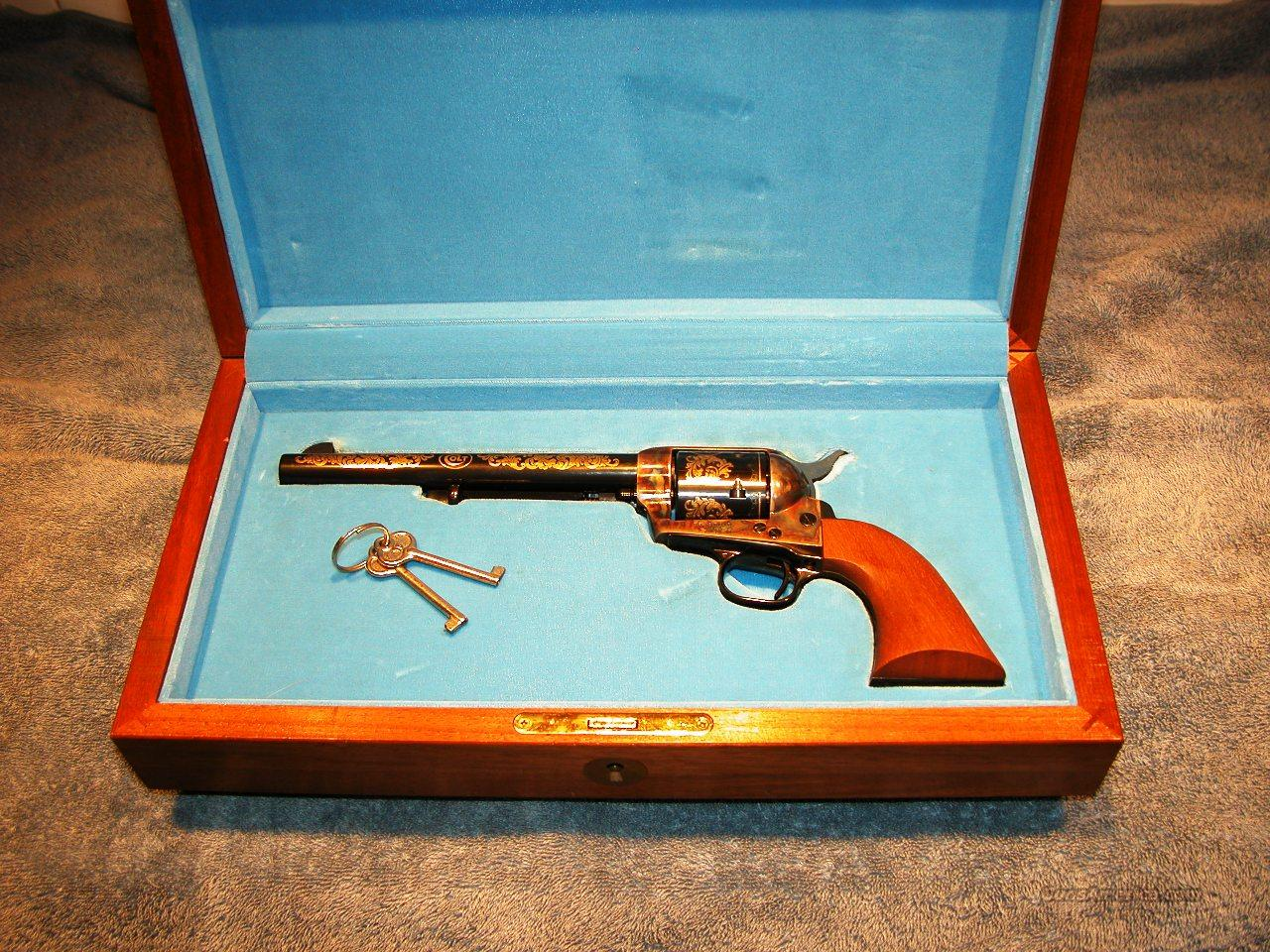 COLT 1984 WINCHESTER/COLT COMMEMORATIVE   Guns > Pistols > Colt Single Action Revolvers - 3rd Gen.