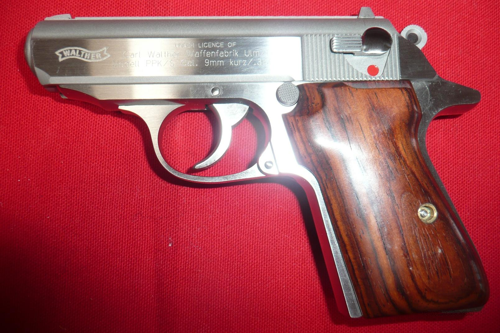 PPK/S S&W Walther 380acp Stainless   Guns > Pistols > Smith & Wesson Pistols - Autos > Steel Frame