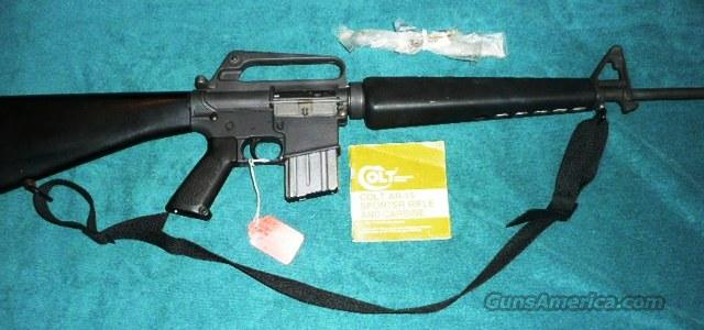 COLT AR15 SP1 EARLY 70S MODEL   Guns > Rifles > Colt Military/Tactical Rifles