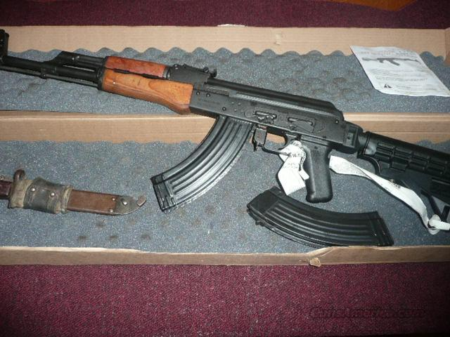 AK 47  WSAR - CAI  RIFLE W/COLLAPSIBLE STOCK  Guns > Rifles > AK-47 Rifles (and copies) > Full Stock