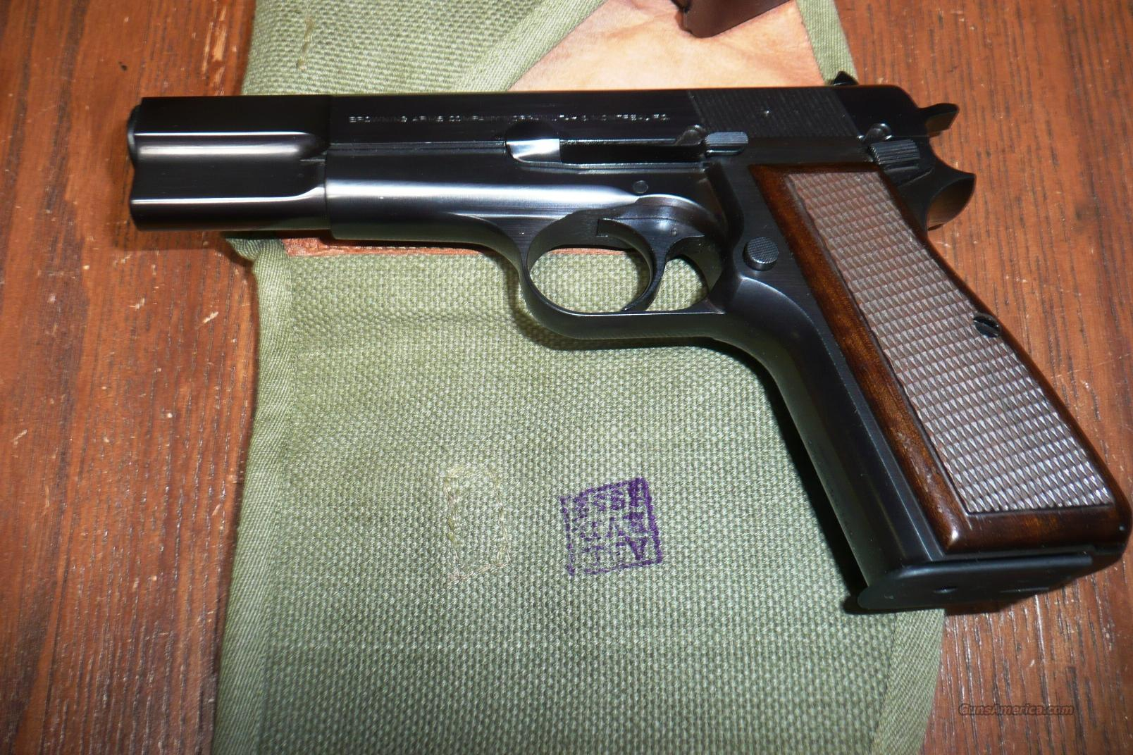 BELGUIM MANUFACTURED HI POWER 9MM  Guns > Pistols > Browning Pistols > Hi Power