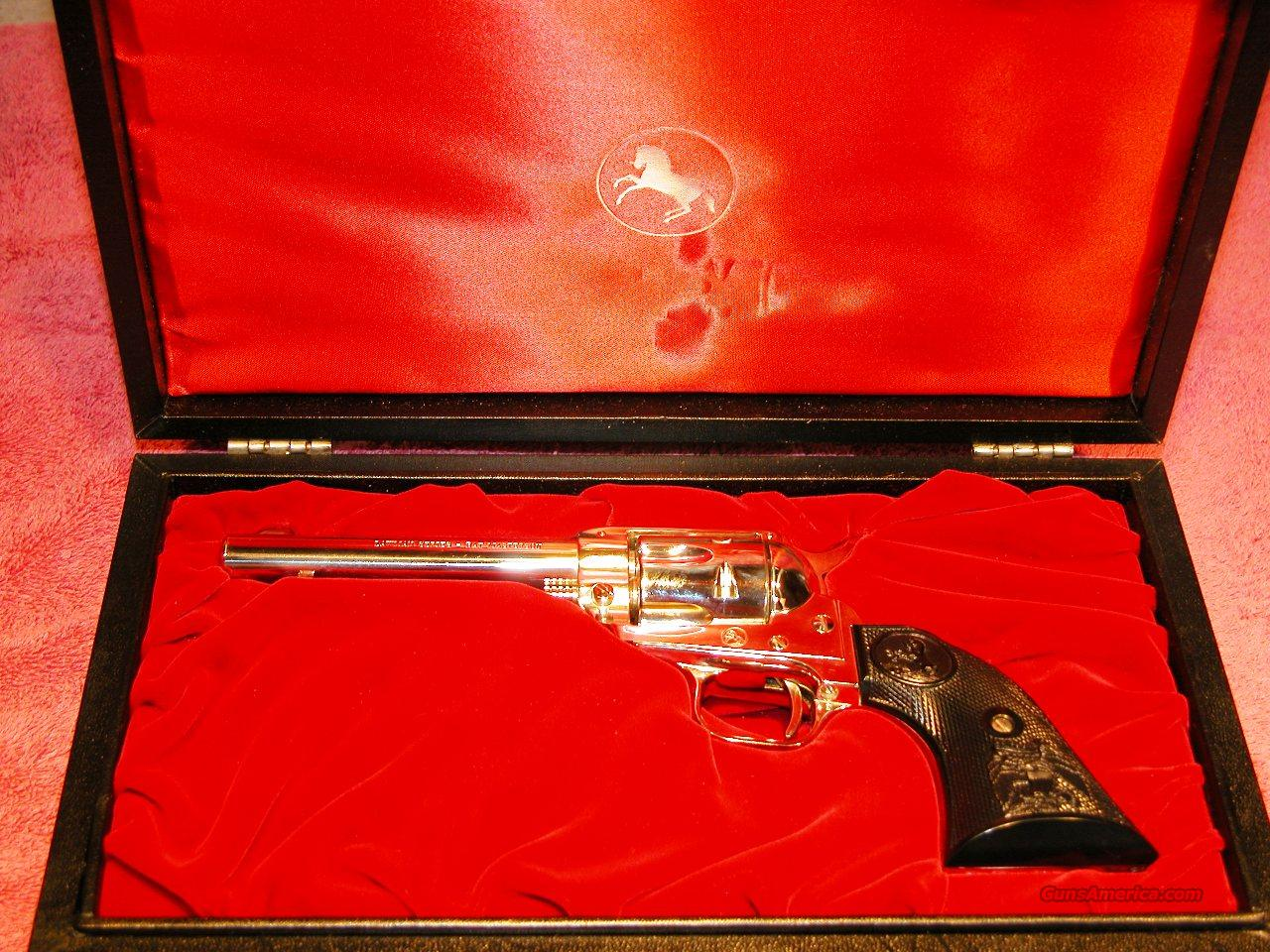 COLT LAWMAN COMMEMORATIVE BAT MASTERSON  Guns > Pistols > Colt Single Action Revolvers - Modern (22 Cal.)