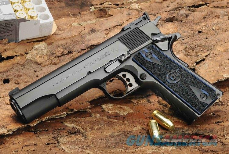 COLT/TALO GOLD CUP NATIONAL MATCH DELUXE SERIAL # 58  Guns > Pistols > Colt Automatic Pistols (1911 & Var)