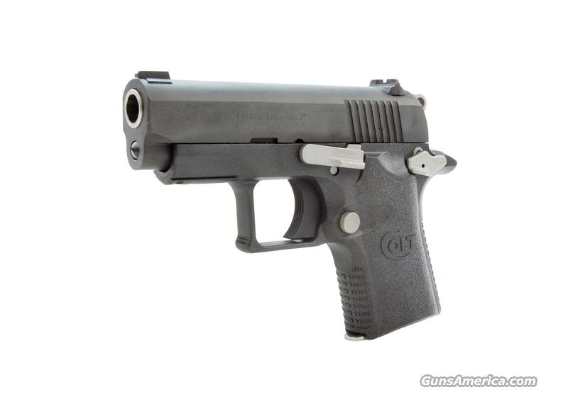 Colt Mustang XSP **NEW IN BOX**  LAW-A-WAY Available  Guns > Pistols > Colt Automatic Pistols (.25, .32, & .380 cal)