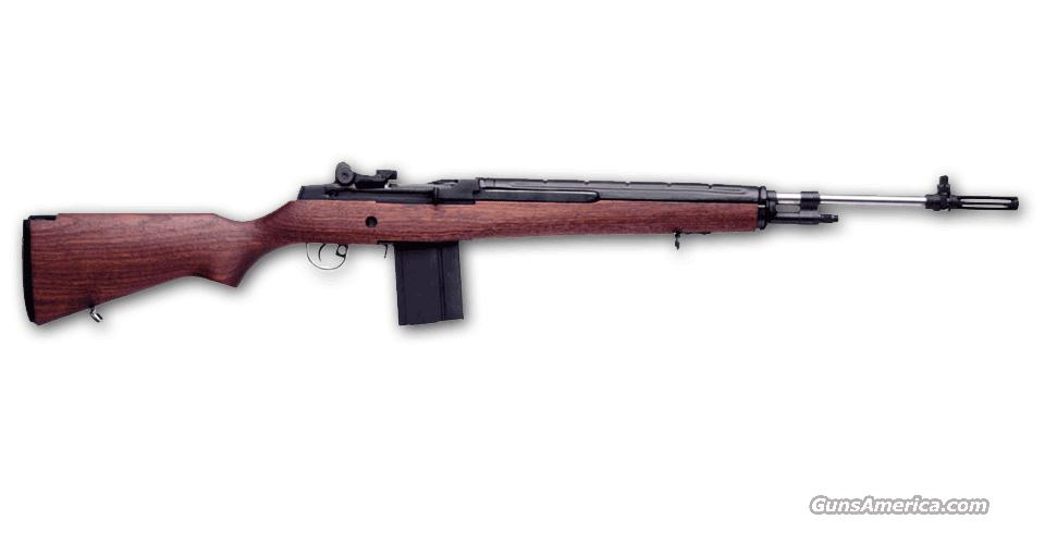SPRINGFIELD M1A WALNUT STOCK WITH UPGRADED STAINLESS BARREL - LOADED MODEL **NEW IN BOX**  Guns > Rifles > Springfield Armory Rifles > M1A/M14