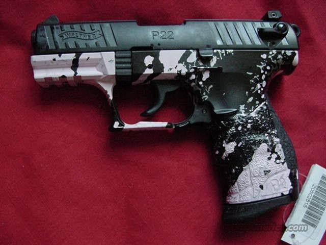 Walther P22 Pink Tiger Stripe         Guns > Pistols > Walther Pistols > Post WWII > P22