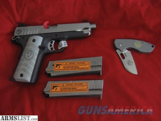 Ruger Navy Seals SR1911 9mm Stainless Steel  Guns > Pistols > Ruger Semi-Auto Pistols > 1911