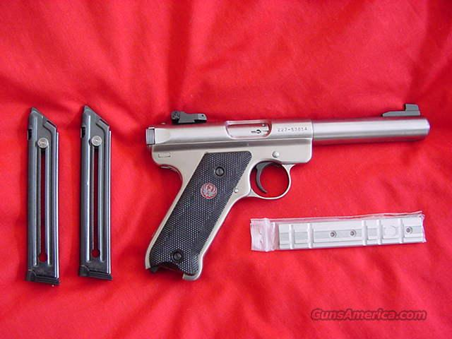 Ruger Mark iii Stainless 22LR  Guns > Pistols > Ruger Semi-Auto Pistols > Mark II Family