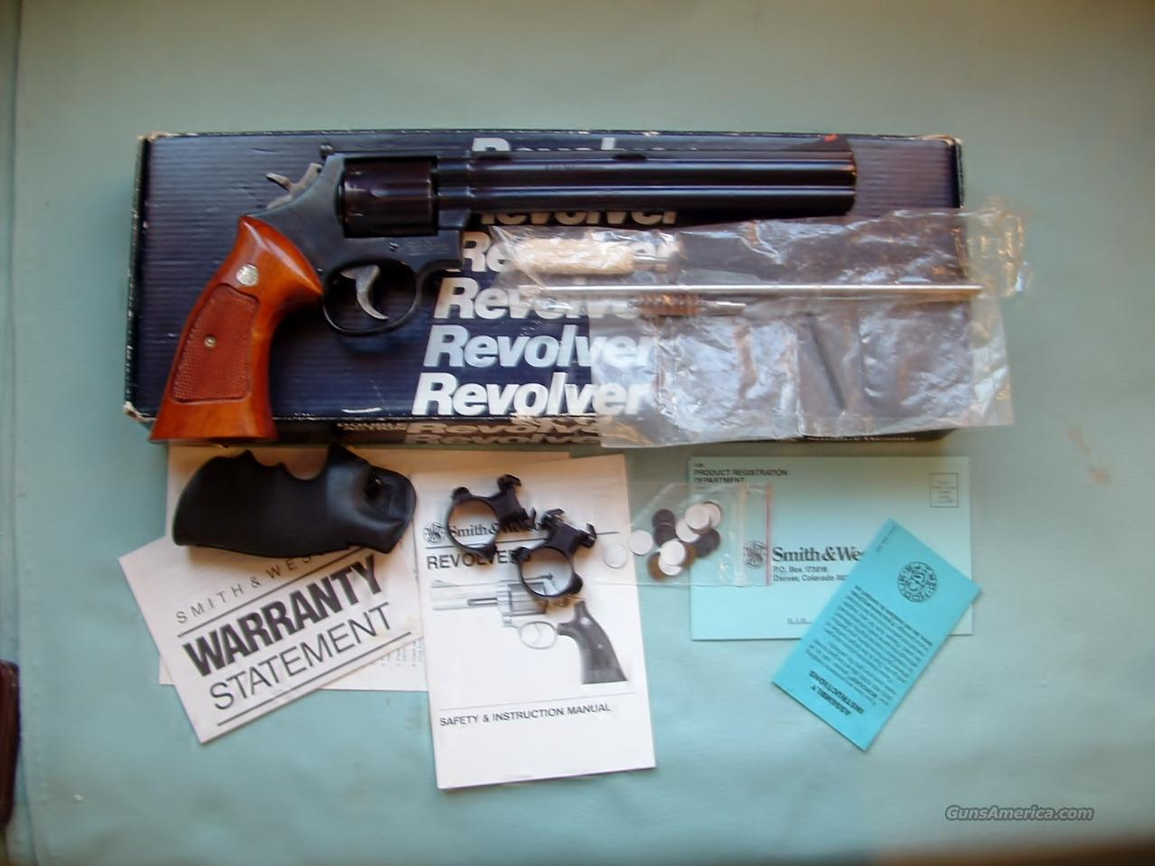 Smith & Wesson, Model 586-3  Guns > Pistols > Smith & Wesson Revolvers > Full Frame Revolver