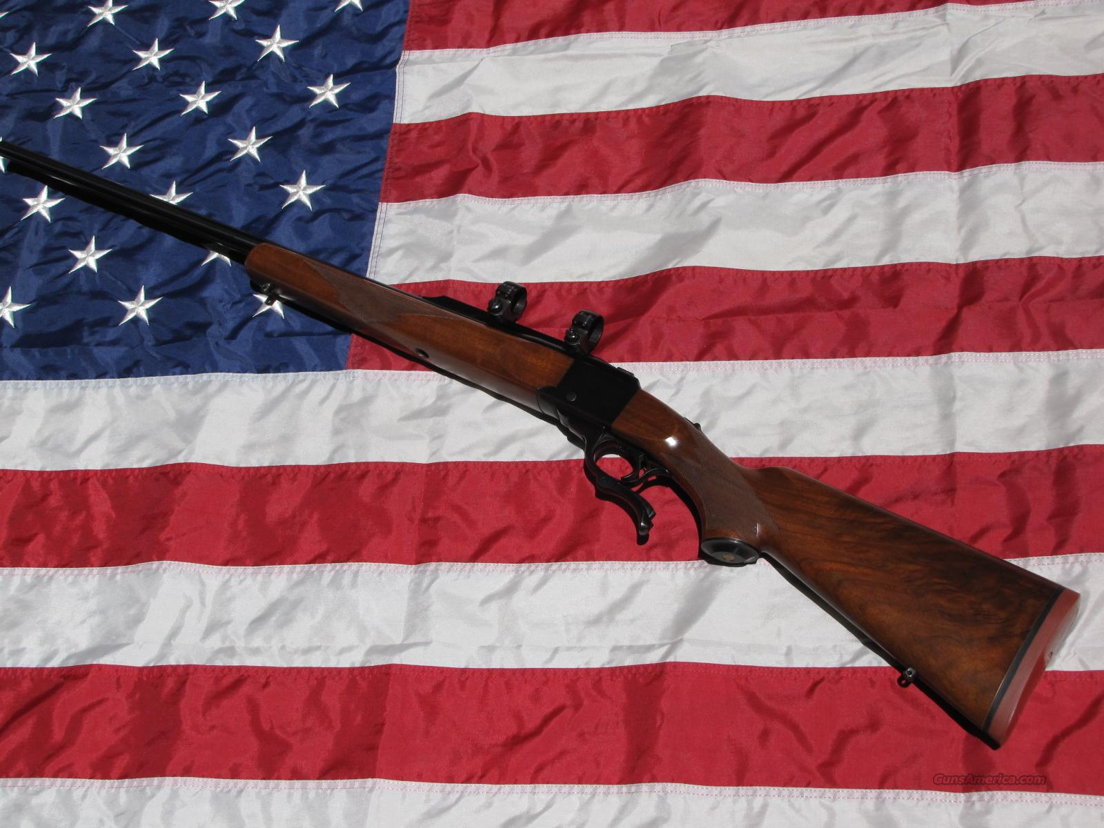 Ruger No.1 .243 Win. w/scope, dies, and ammo  Guns > Rifles > Ruger Rifles > #1 Type
