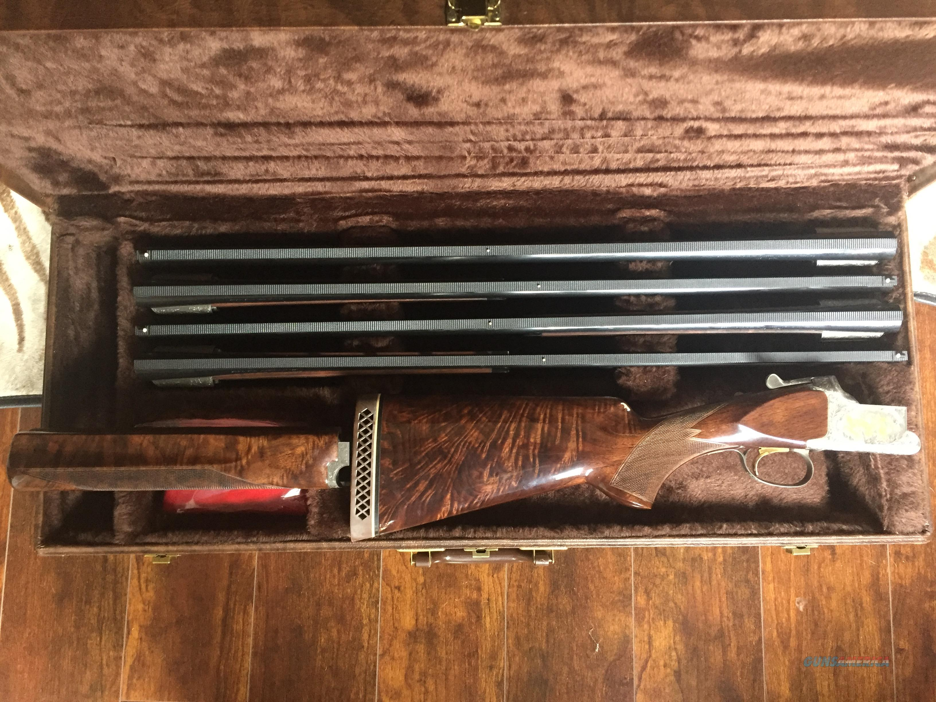 BROWNING 4 BARREL GRADE 6 SKEET  Guns > Shotguns > Browning Shotguns > Over Unders > Citori > Trap/Skeet