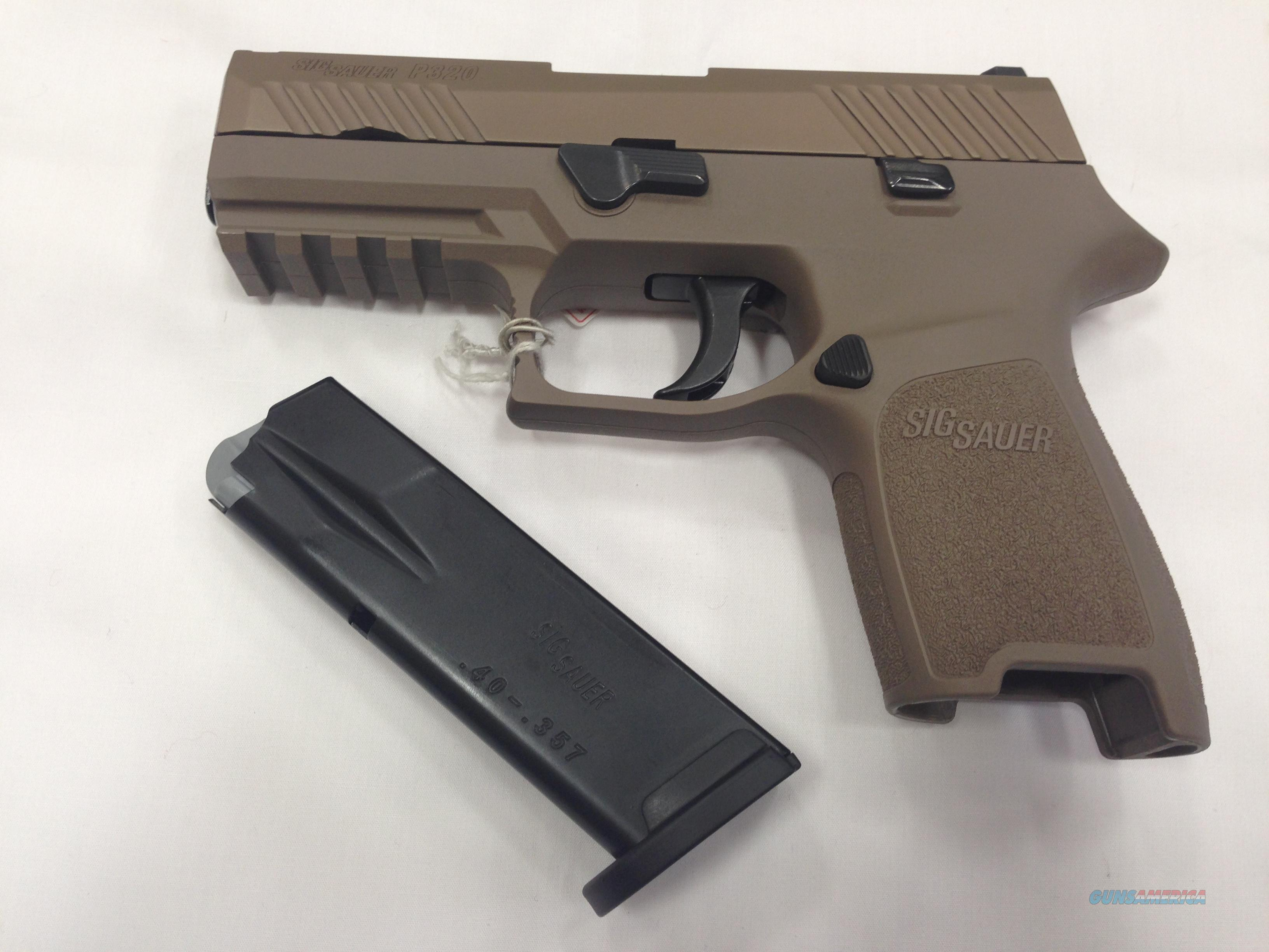 Sig Sauer P320 Carry Nitron FDE  Guns > Pistols > Sig - Sauer/Sigarms Pistols > Other