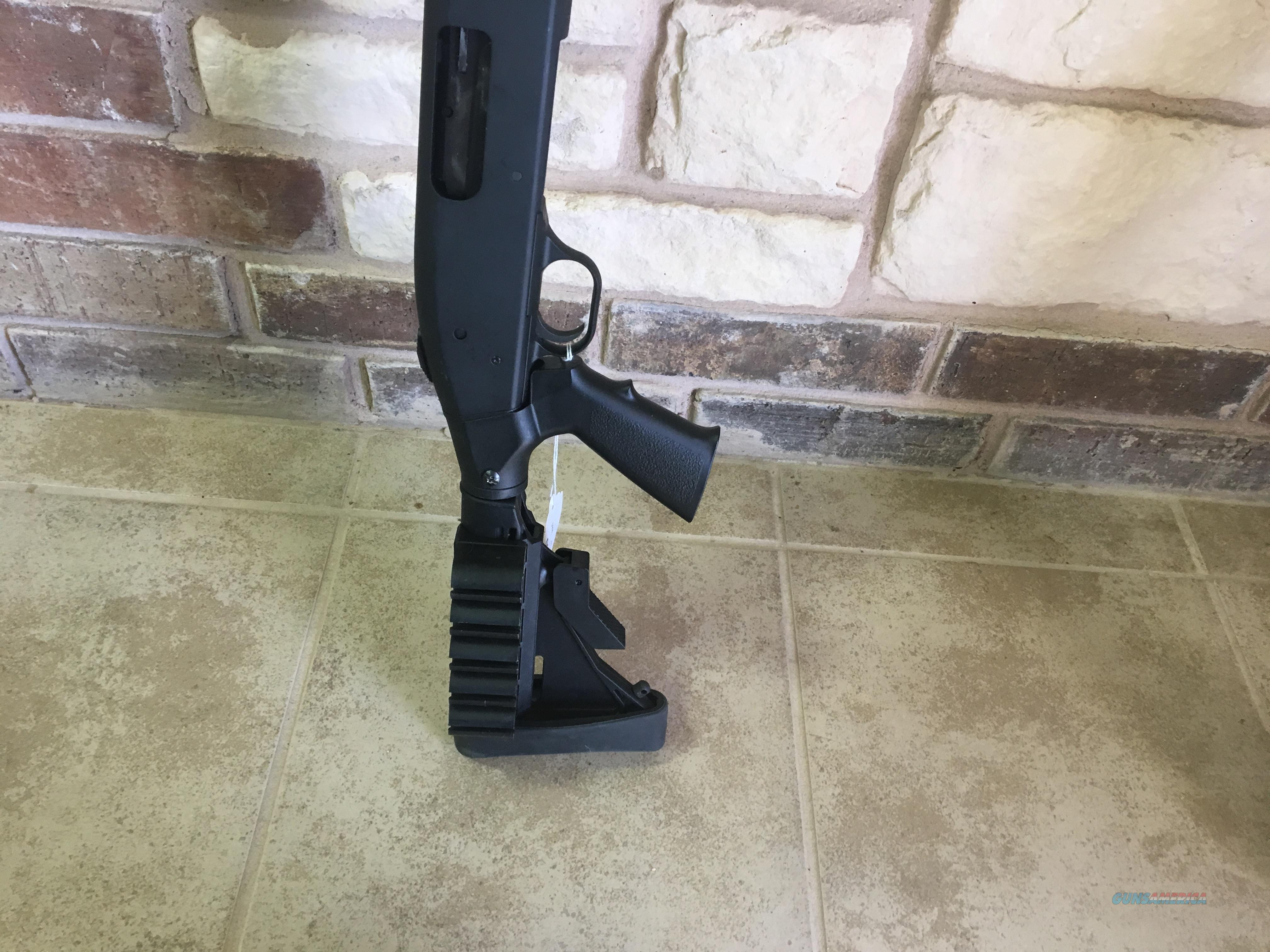 Mossberg 500 w/ Telescoping Stock and Side Saddle  Guns > Shotguns > Mossberg Shotguns > Pump > Tactical