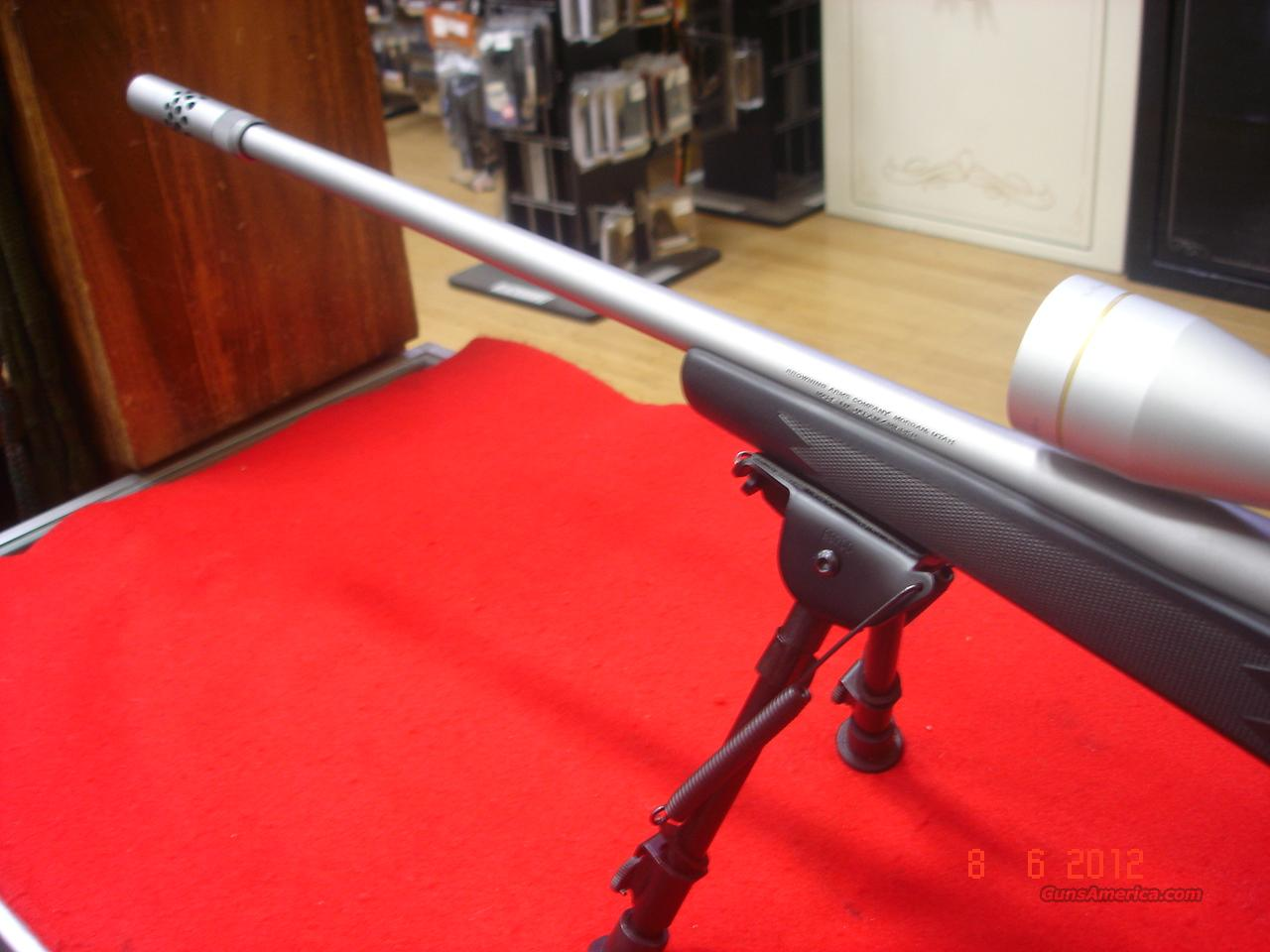 Browning A-Bolt .300WSM SS  Guns > Rifles > Browning Rifles > Bolt Action > Hunting > Stainless