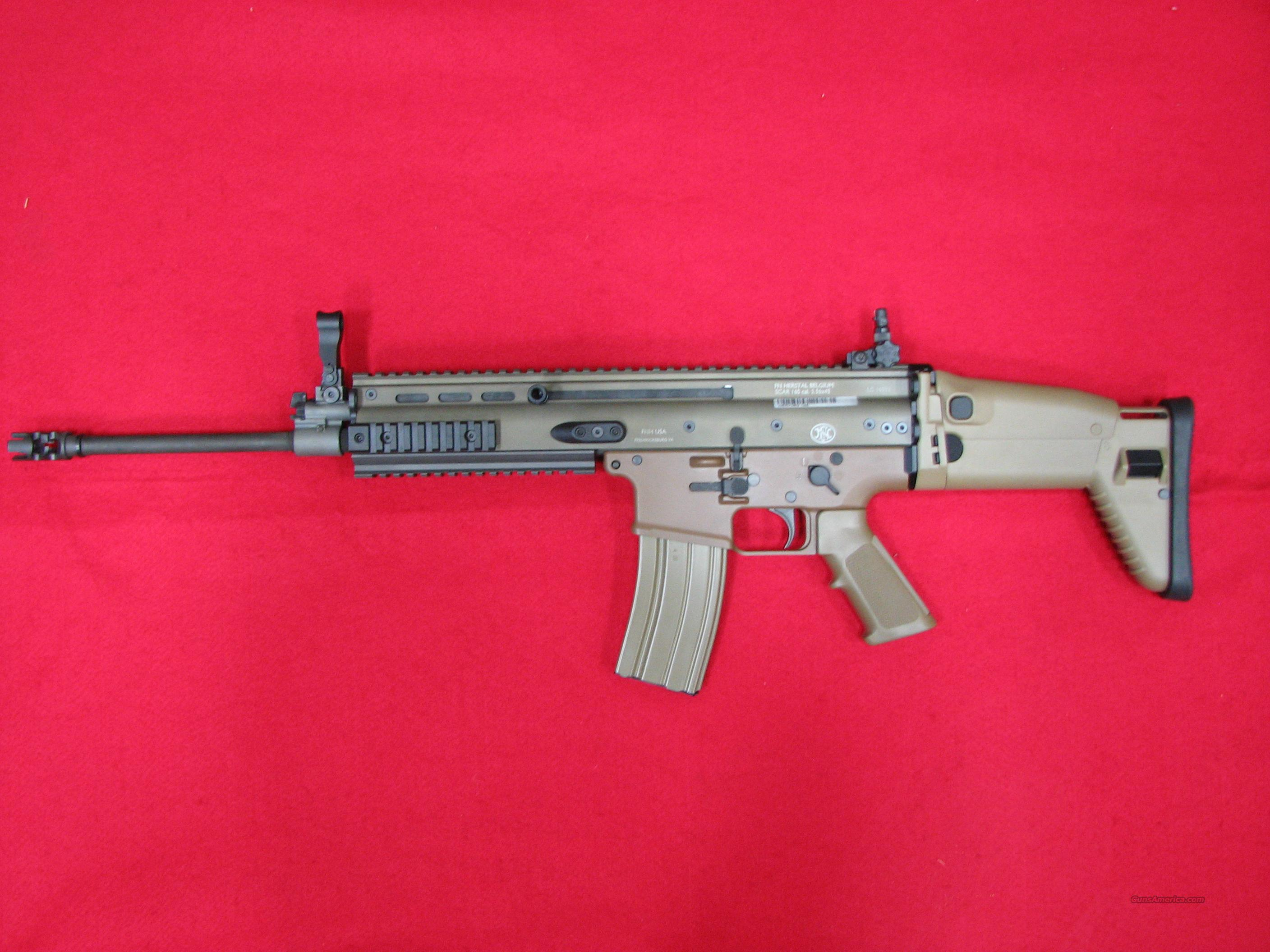FNH Scar 16S USED  Guns > Rifles > FNH - Fabrique Nationale (FN) Rifles > Semi-auto > Other