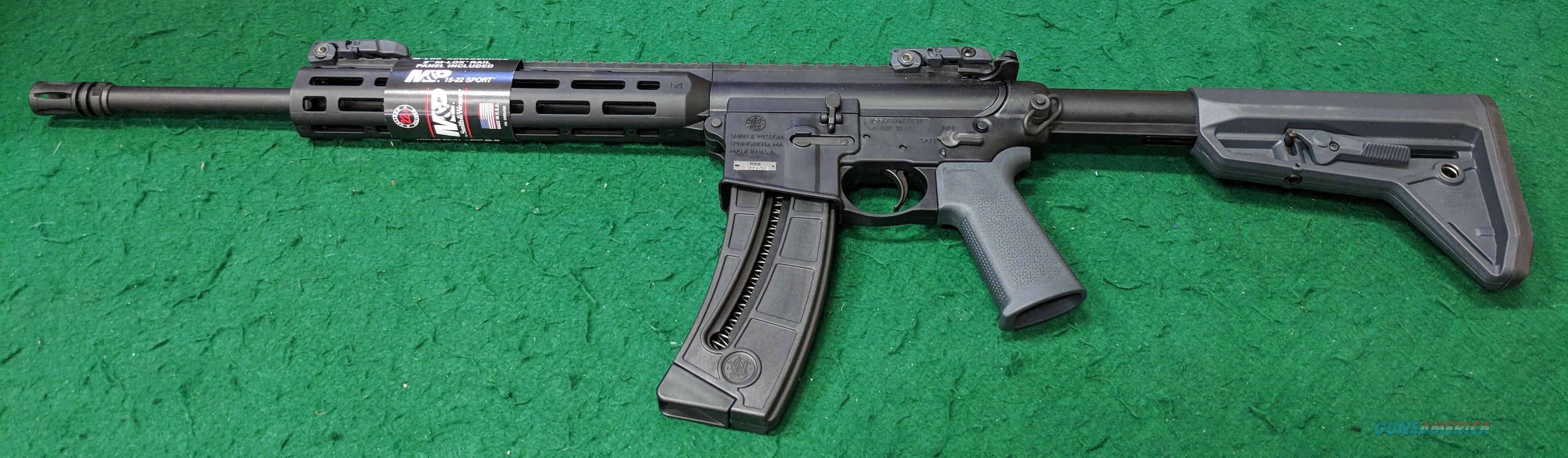 Smith & Wesson - M&P 15-22 - 22LR  Guns > Rifles > Smith & Wesson Rifles > M&P