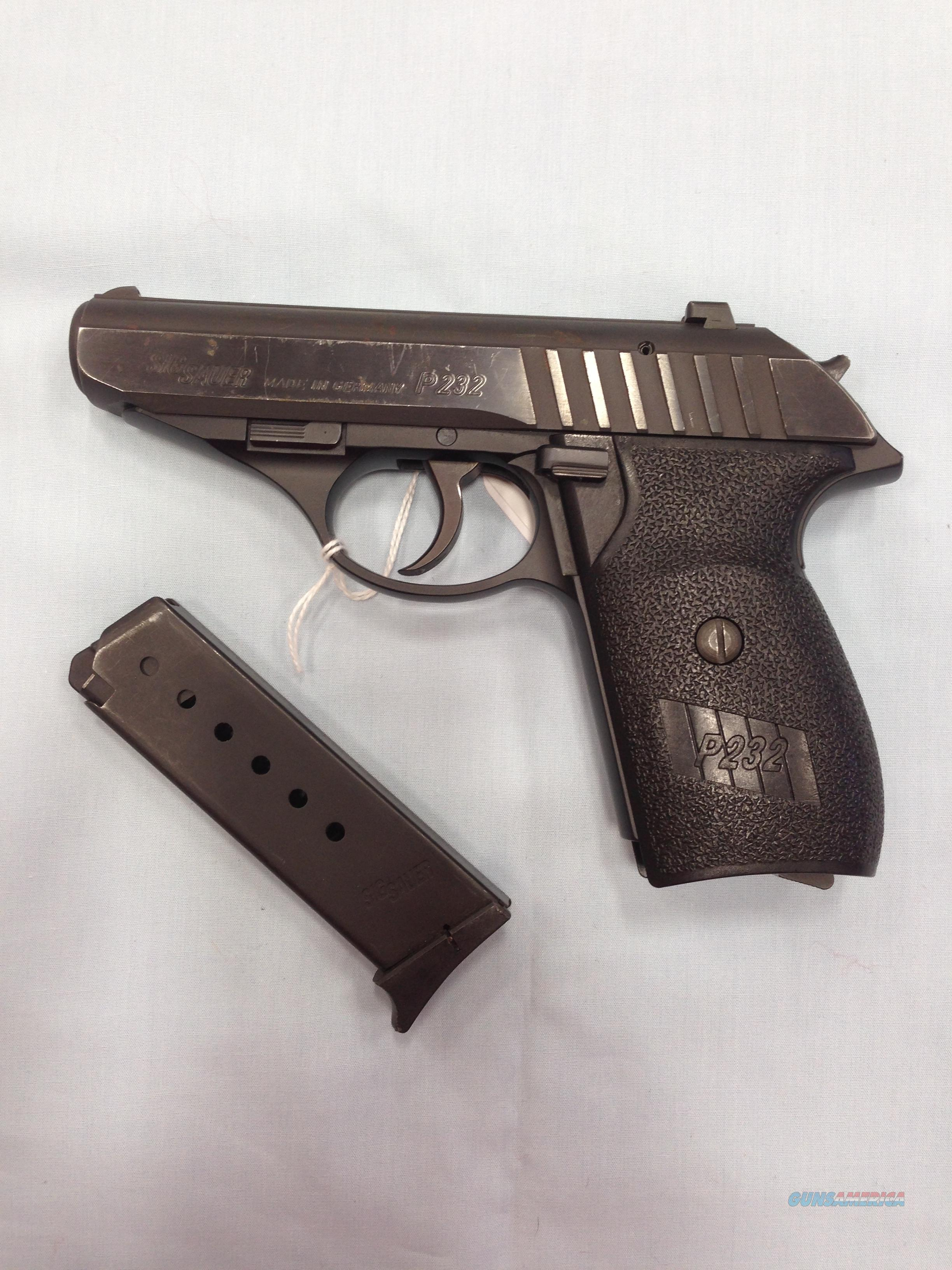 Sig Sauer P232 Used  Guns > Pistols > Sig - Sauer/Sigarms Pistols > P232