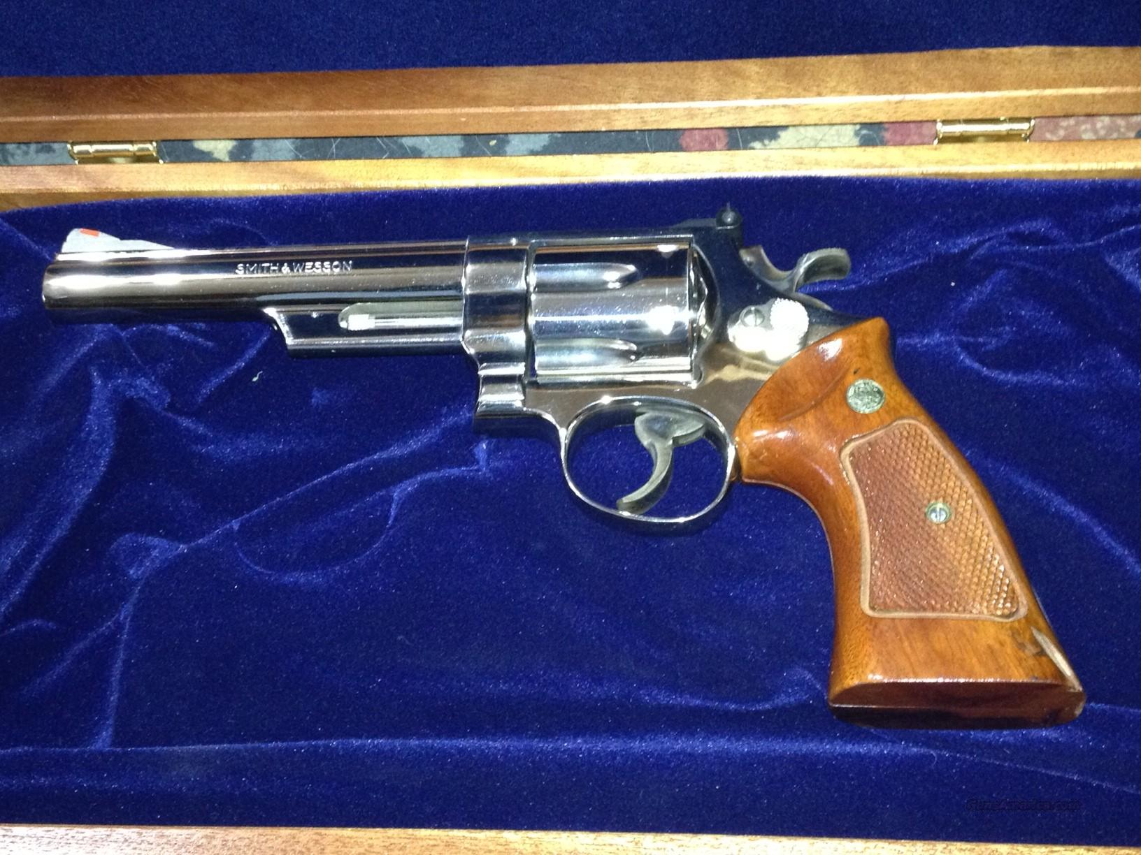 "S&W Model 29-3 .44 Mag 6 1/2"" nickel  Guns > Pistols > Smith & Wesson Revolvers > Full Frame Revolver"