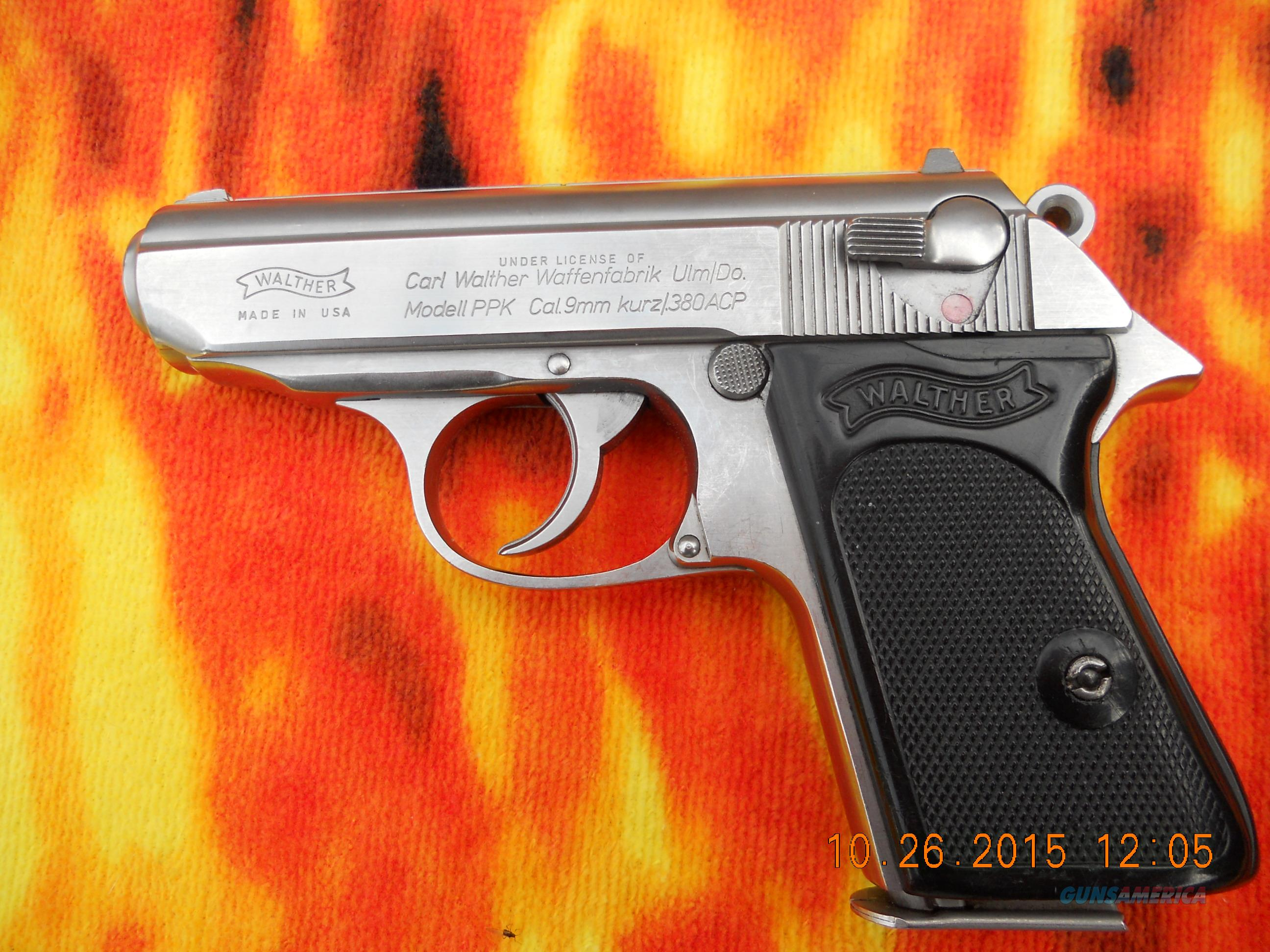 WALTHER PPK INTERARMS 380 SS  Guns > Pistols > Walther Pistols > Post WWII > PPK Series