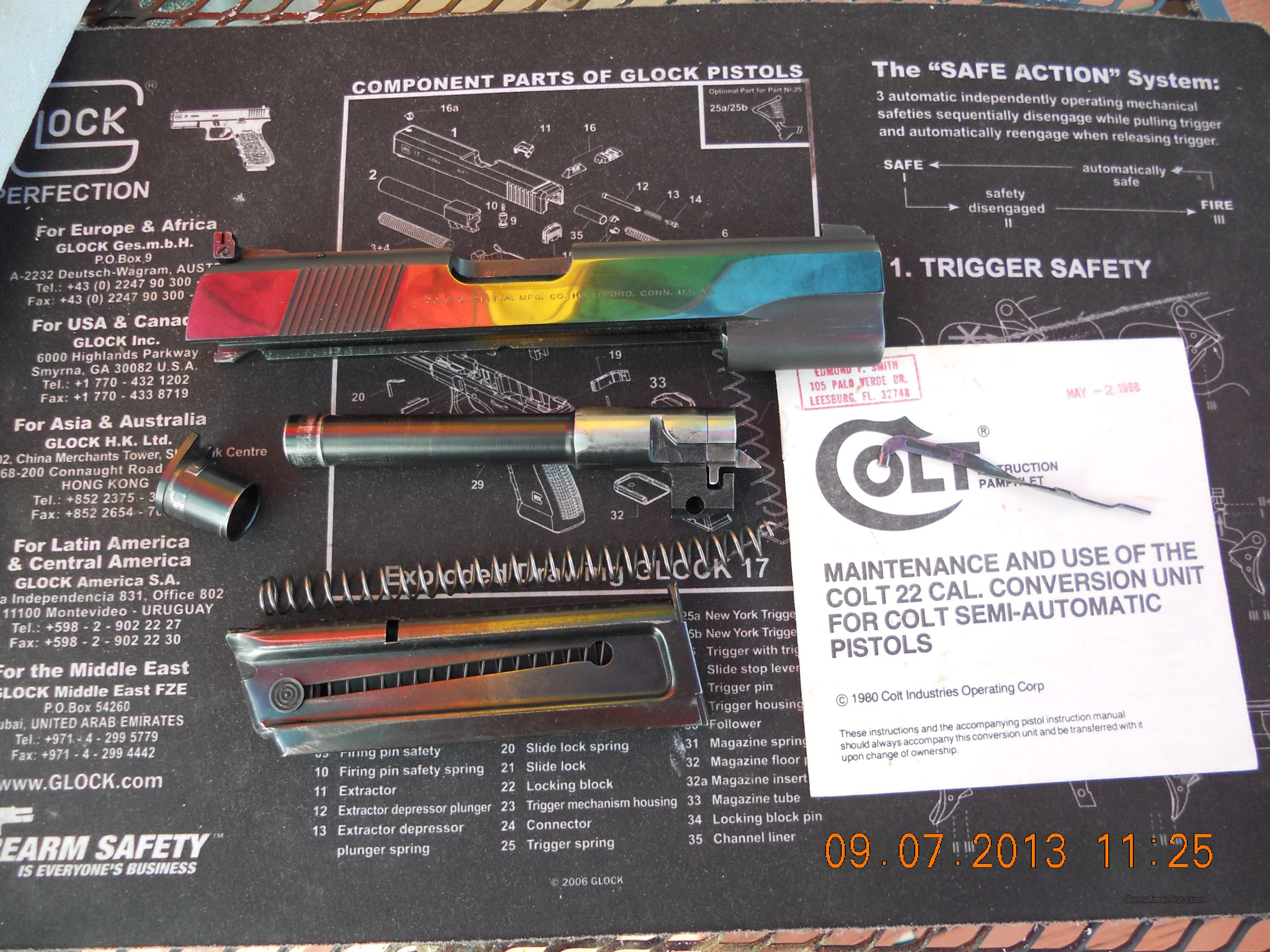 COLT 1911 22 LR CONVERSION KIT  Non-Guns > Gun Parts > 1911