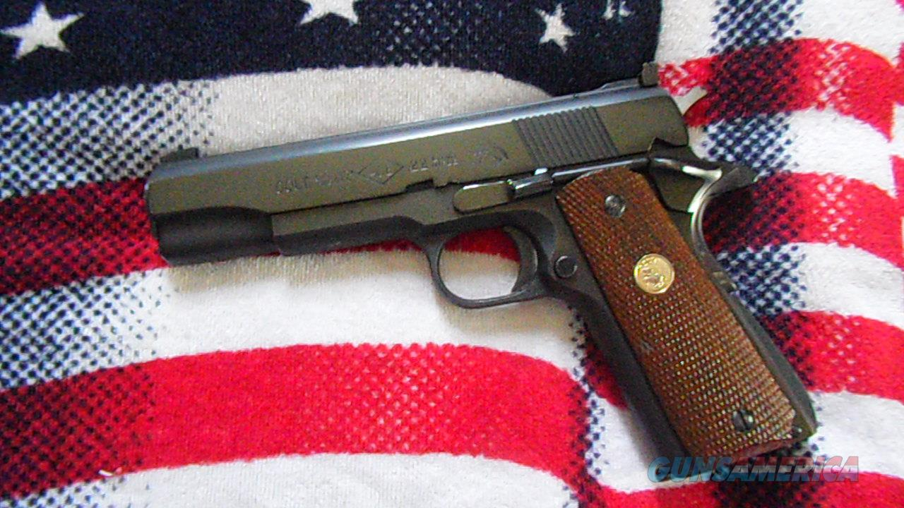 COLT ACE 22  ENGLISH PROOF MARKED  Guns > Pistols > Colt Automatic Pistols (1911 & Var)