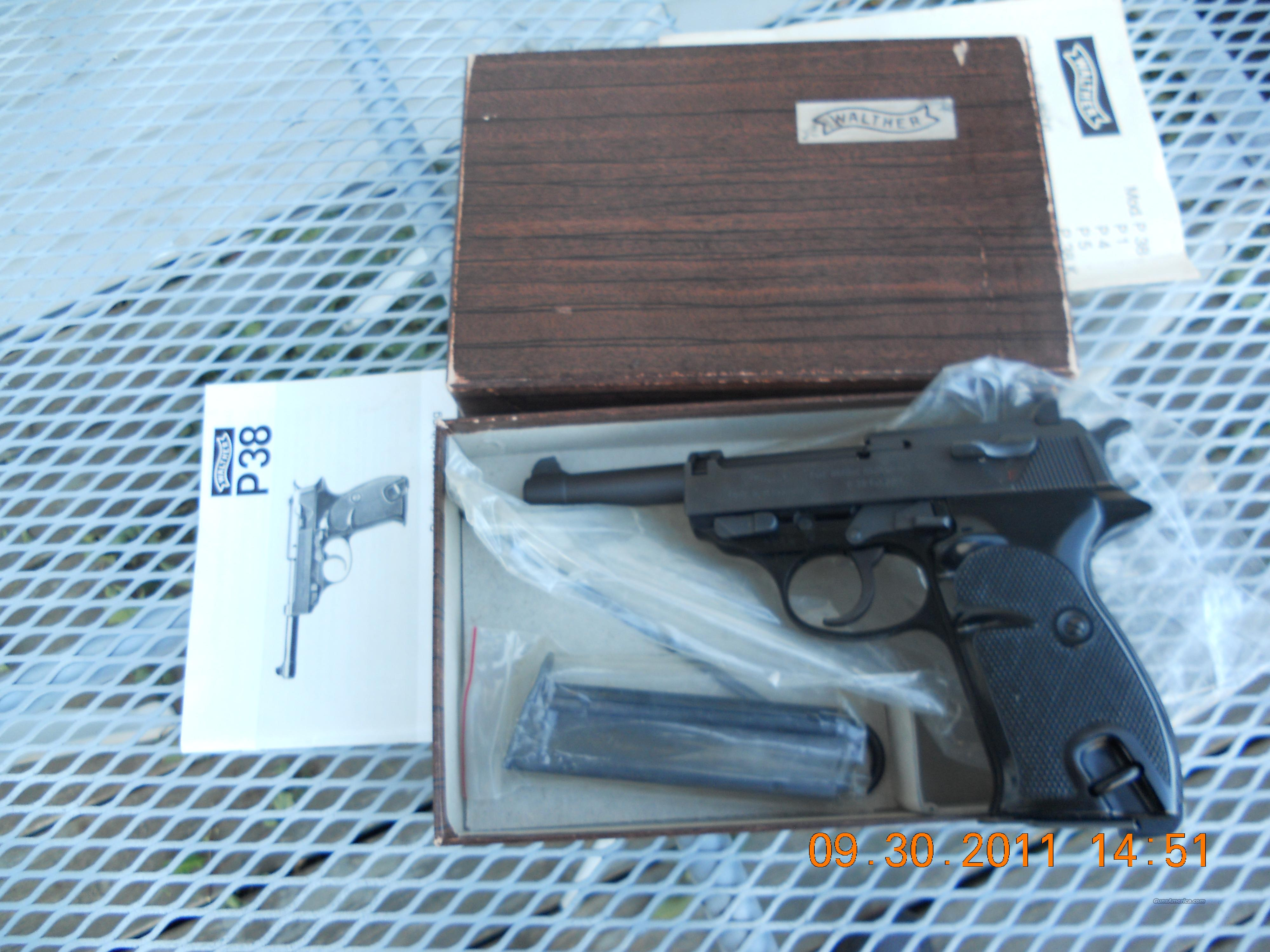 WALTHER P38 22 LR  Guns > Pistols > Walther Pistols > Post WWII > P-38