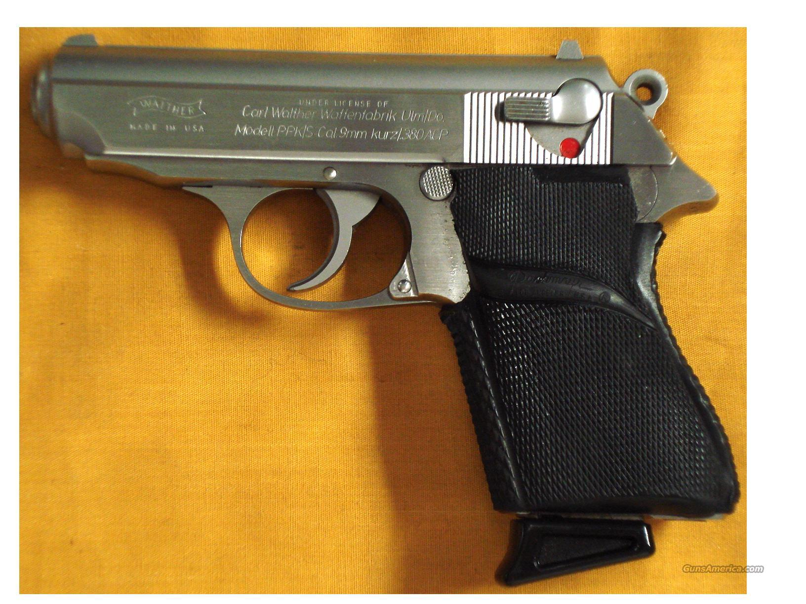 "WALTHER PPKS 380 3 1/4"" BARREL  Guns > Pistols > Walther Pistols > Post WWII > PPK Series"