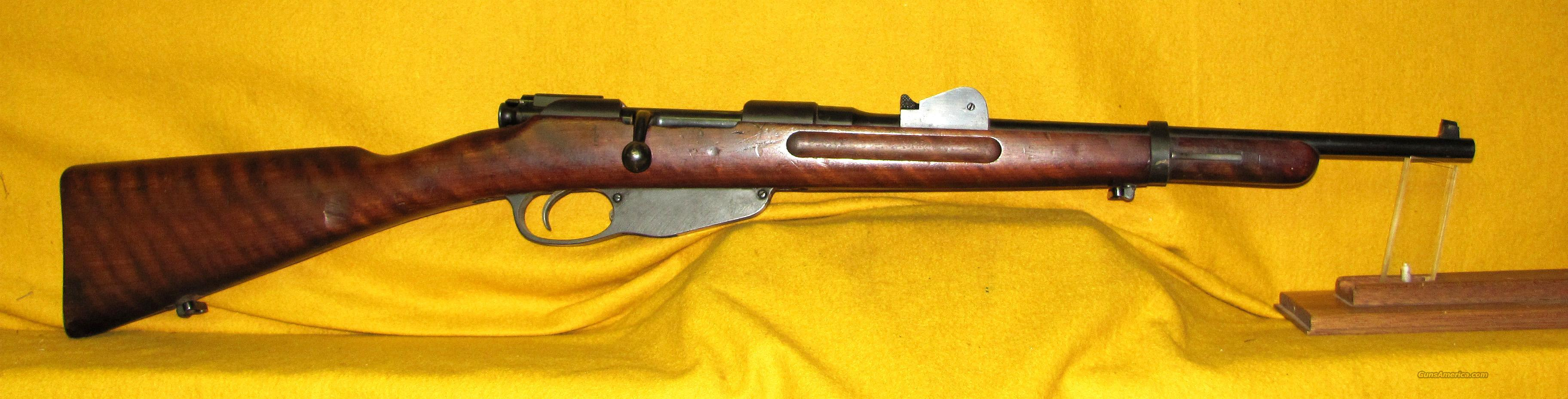 DUTCH HEMBRUG CARBINE 1906  Guns > Rifles > Military Misc. Rifles Non-US > Other