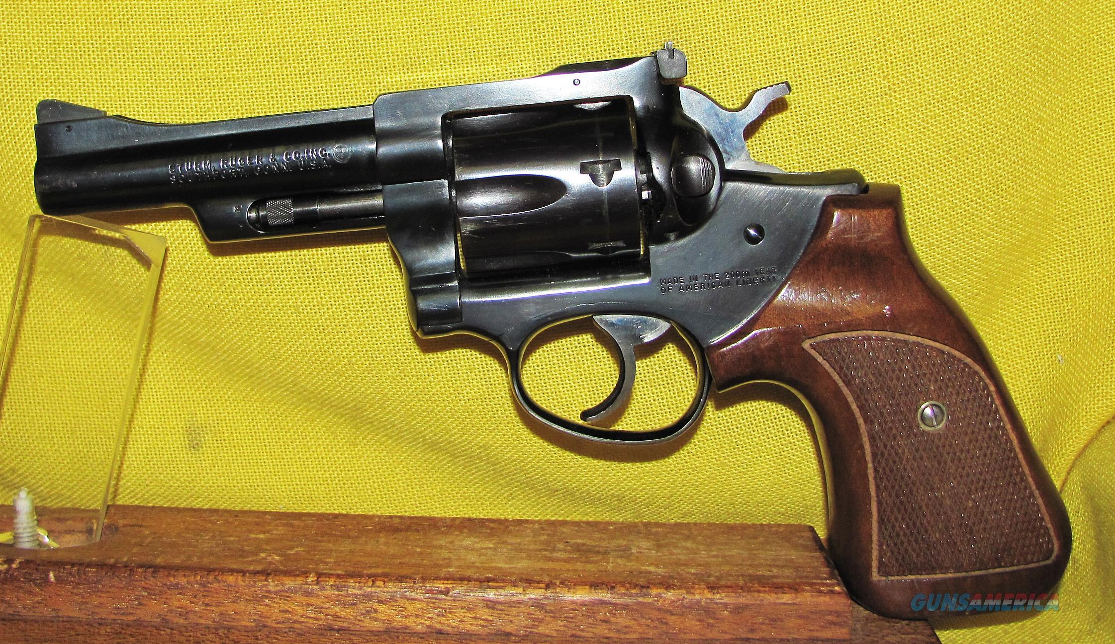 RUGER (200TH YEAR) SECURITY SIX  Guns > Pistols > Ruger Double Action Revolver > Security Six Type