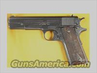 COLT GOVERNMENT 1911 EARLY  .45 SN.48828  Guns > Pistols > Colt Automatic Pistols (1911 & Var)