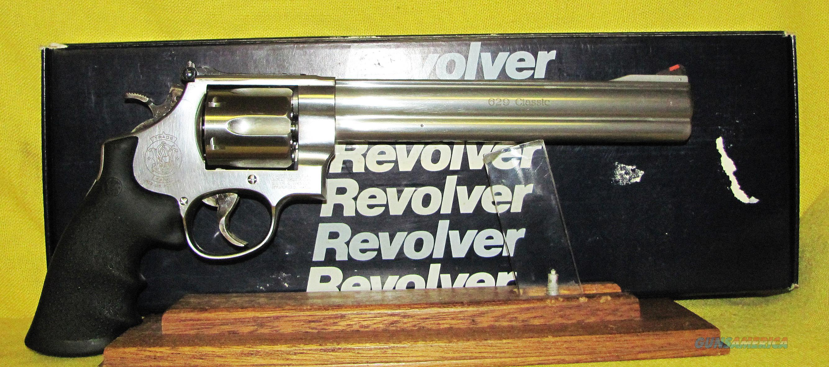 S&W 629-4 CLASSIC  Guns > Pistols > Smith & Wesson Revolvers > Med. Frame ( K/L )