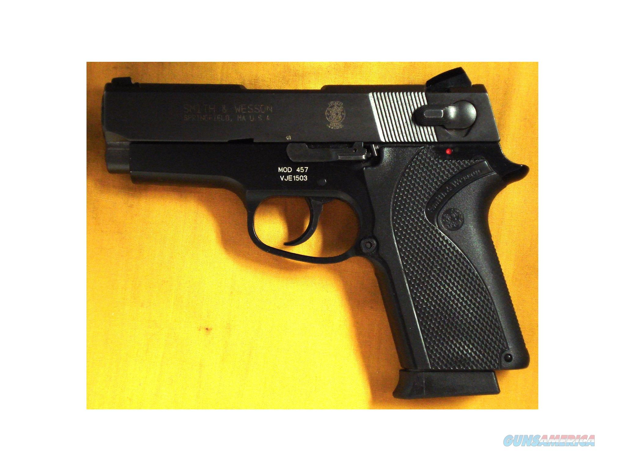 "S&W 457 .45ACP 3 3/4"" BARREL SN VJE1503  Guns > Pistols > Smith & Wesson Pistols - Autos > Alloy Frame"