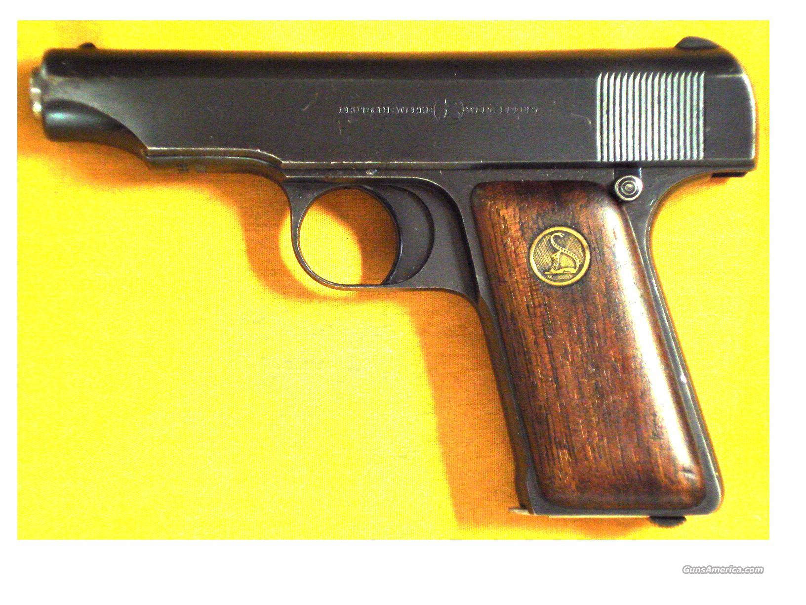 "ORTGIES POCKET .32ACP 3 1/2"" BARREL  Guns > Pistols > Ortgies Pistols"
