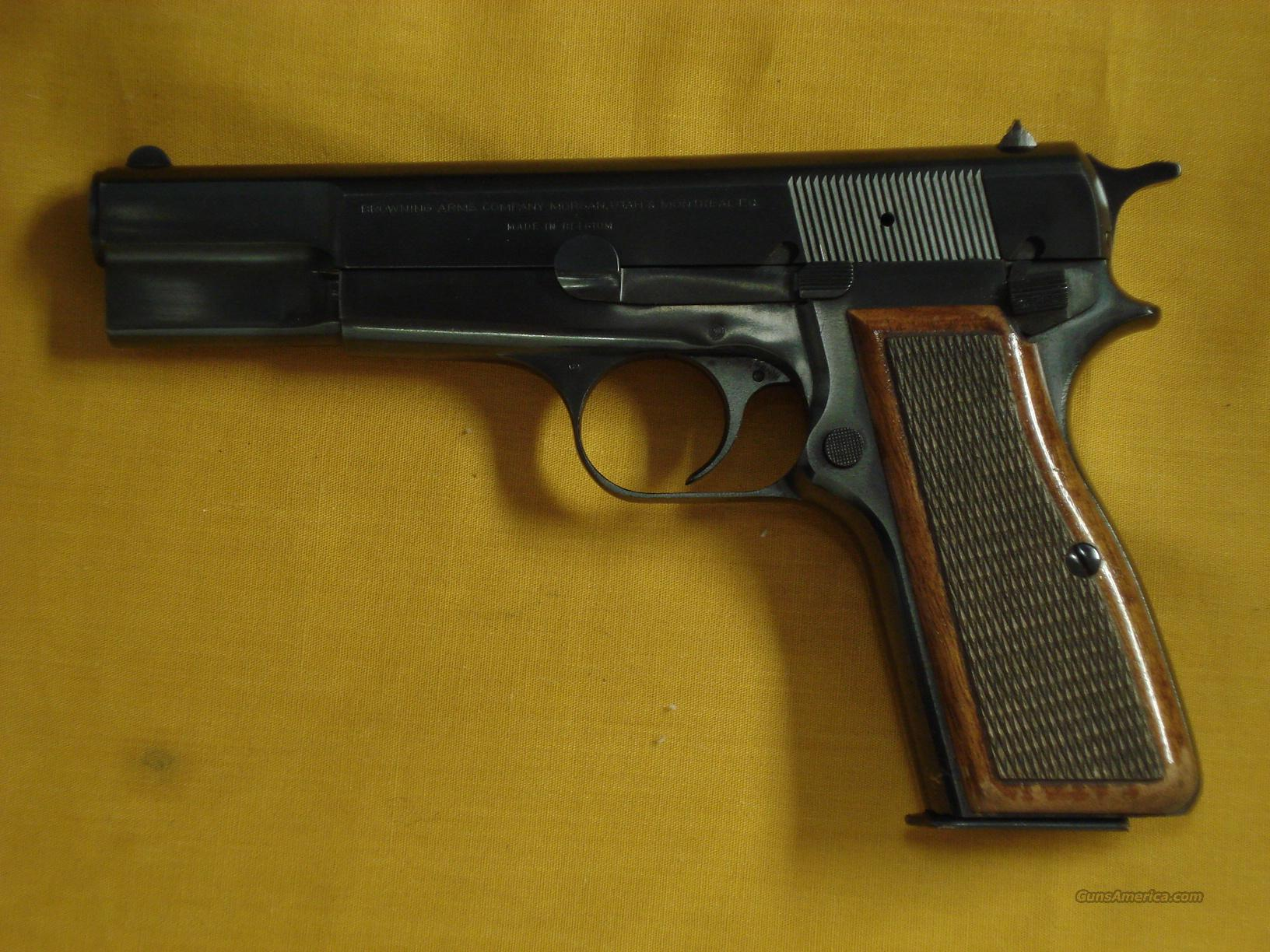 "BROWNING HI POWER 9MM 4 1/2""BBL  Guns > Pistols > Browning Pistols > Hi Power"