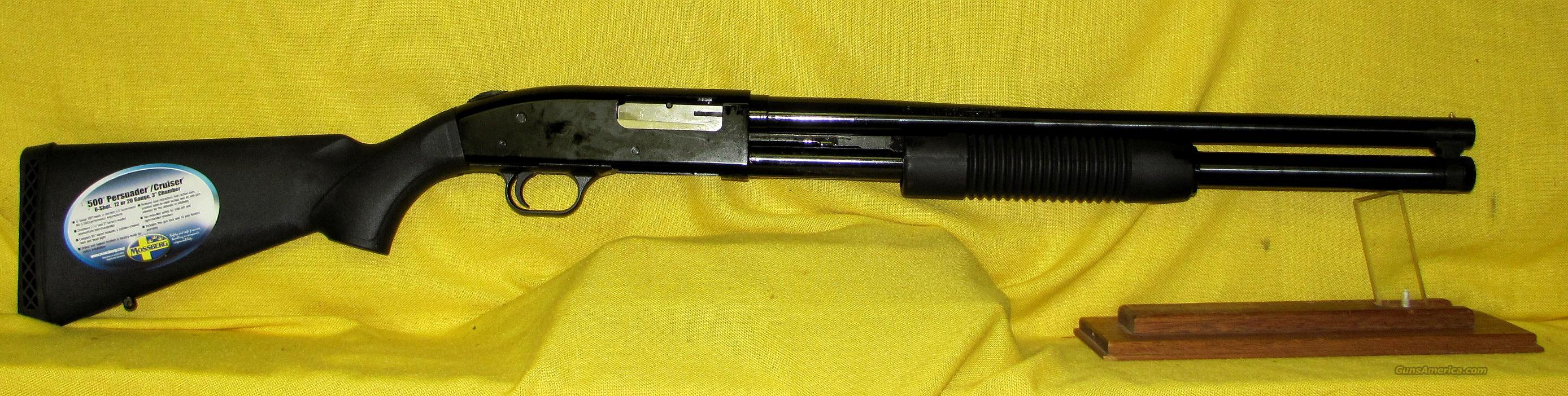 MOSSBERG 500 PERSUADER  Guns > Shotguns > Mossberg Shotguns > Pump > Tactical