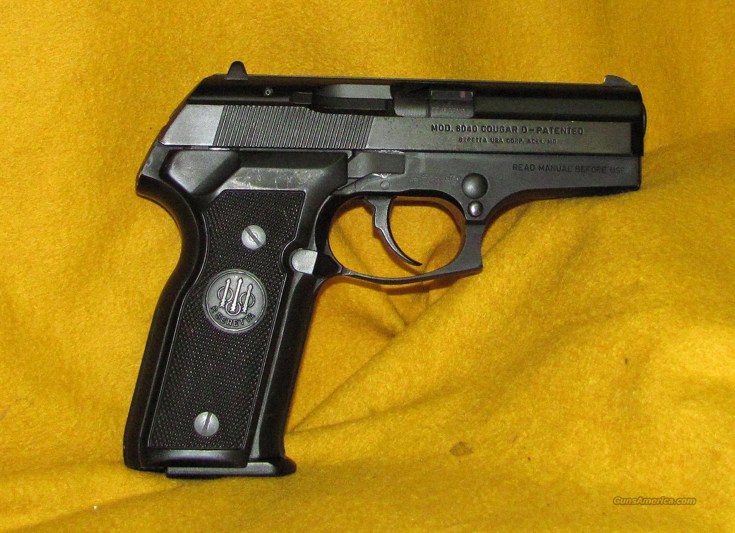 BERETTA COUGAR ( 8040 )  Guns > Pistols > Beretta Pistols > Rare & Collectible