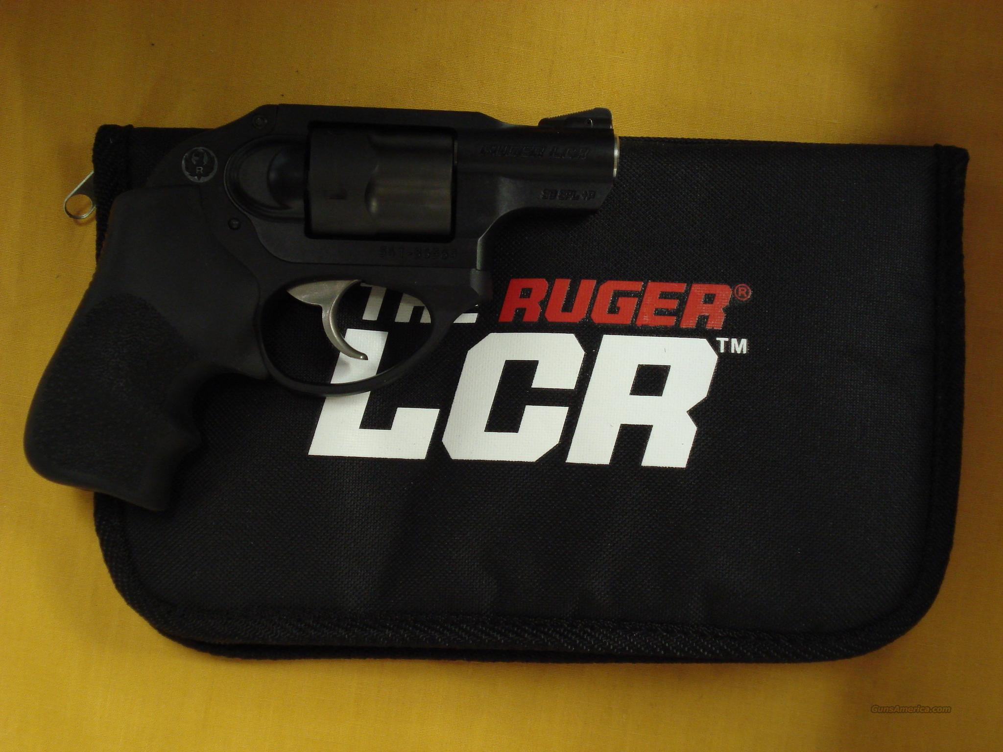 "RUGER LCR .38 SPL 2"" BARREL  Guns > Pistols > Ruger Double Action Revolver > LCR"