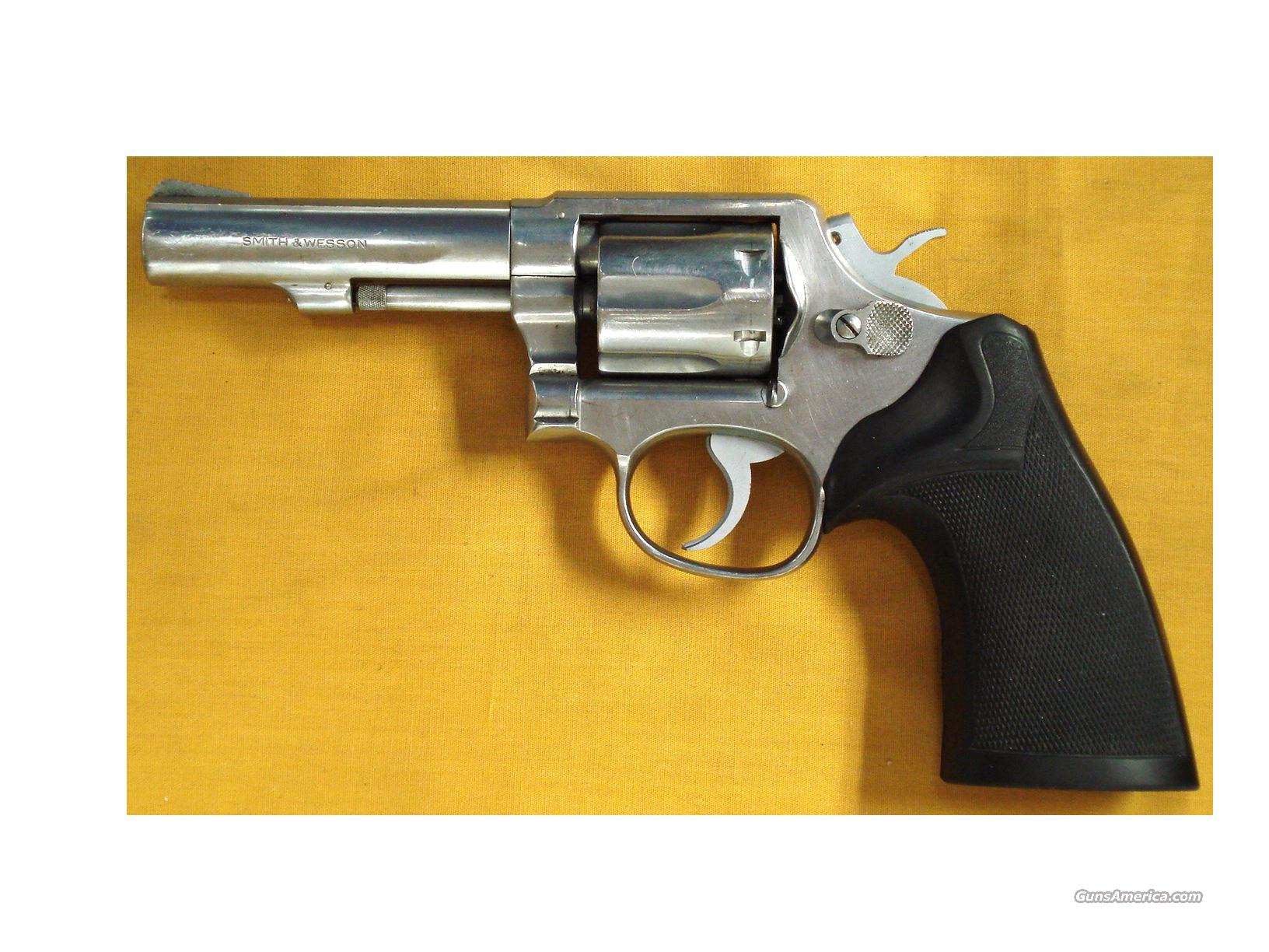 "S&W 64-1 .38 4"" PINNED BARREL  Guns > Pistols > Smith & Wesson Revolvers > Full Frame Revolver"