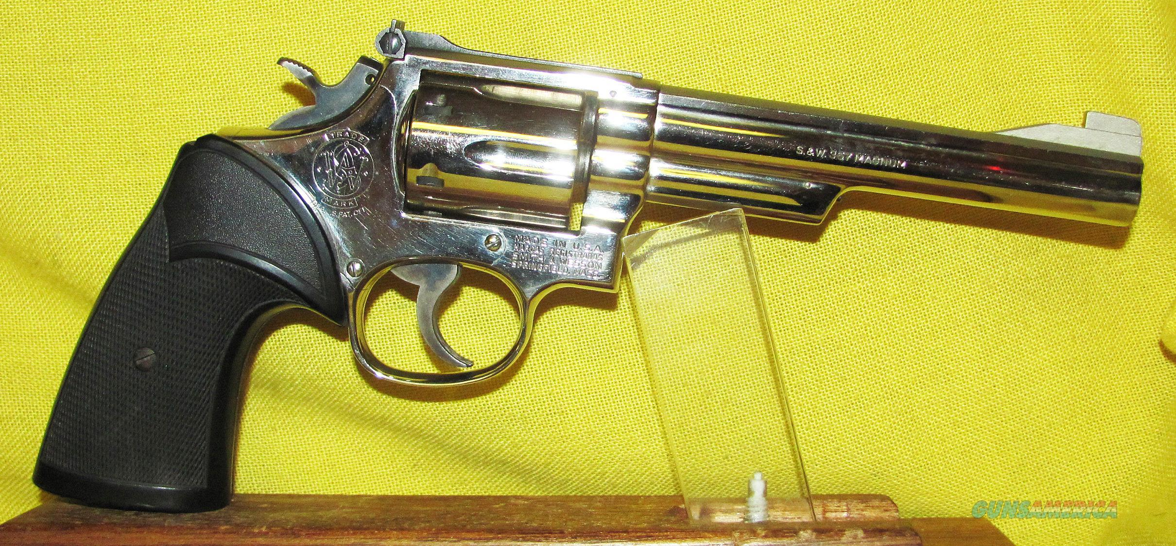 S&W 19-4  Guns > Pistols > Smith & Wesson Revolvers > Med. Frame ( K/L )