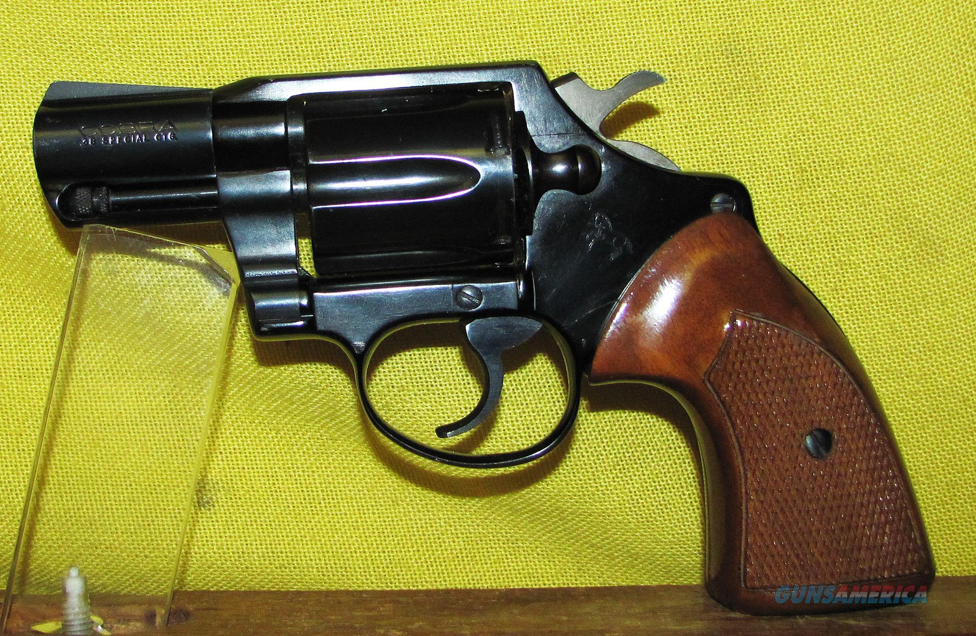 COLT COBRA  Guns > Pistols > Colt Double Action Revolvers- Modern