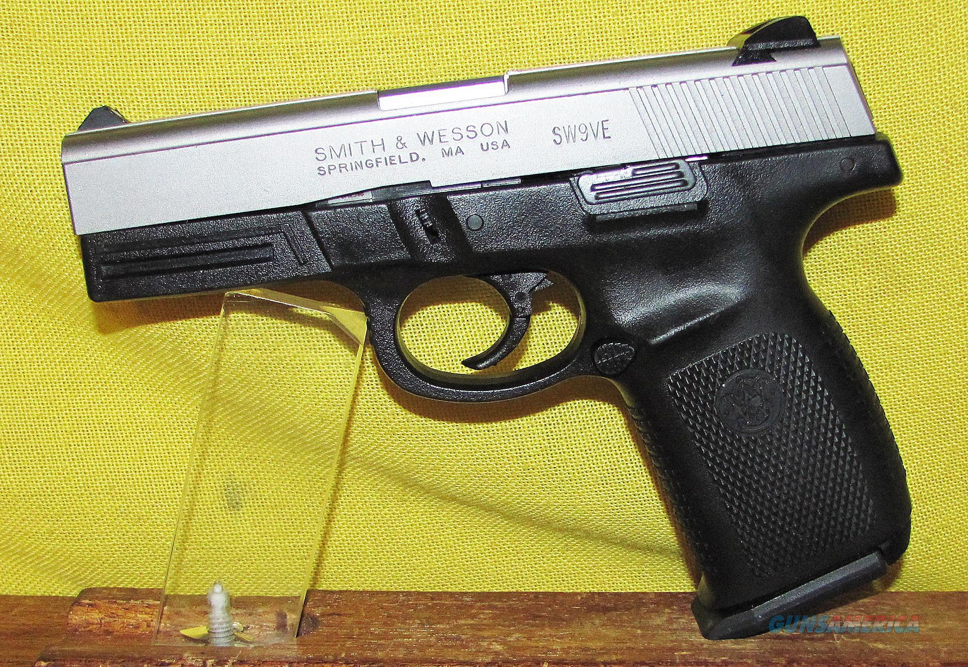 S&W SW9VE  Guns > Pistols > Smith & Wesson Pistols - Autos > Polymer Frame