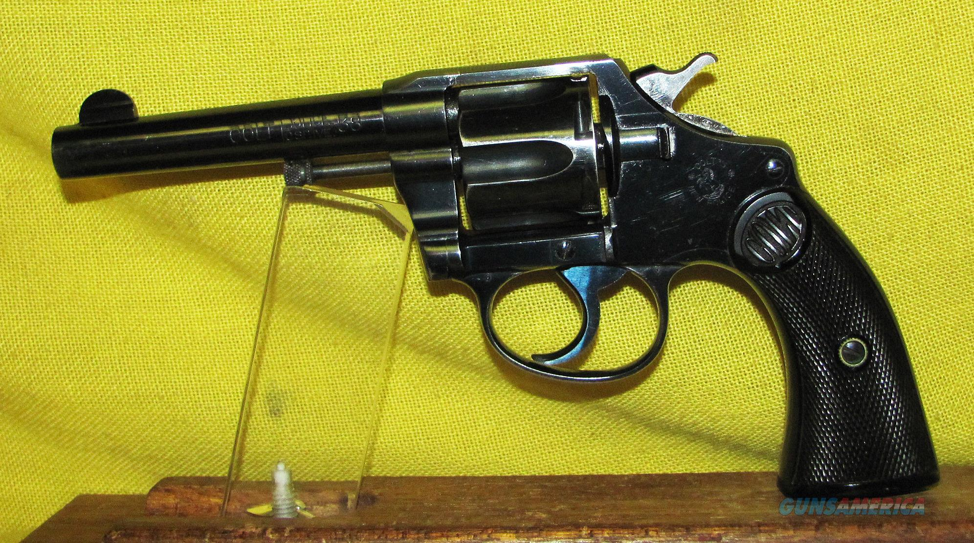COLT POLICE POSITIVE FIRST ISSUE  Guns > Pistols > Colt Double Action Revolvers- Modern