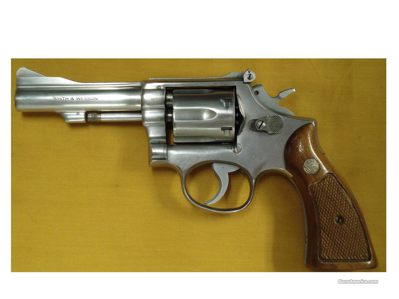 "S&W 67 .38SPL 4"" PINNED BARREL  Guns > Pistols > Smith & Wesson Revolvers > Full Frame Revolver"