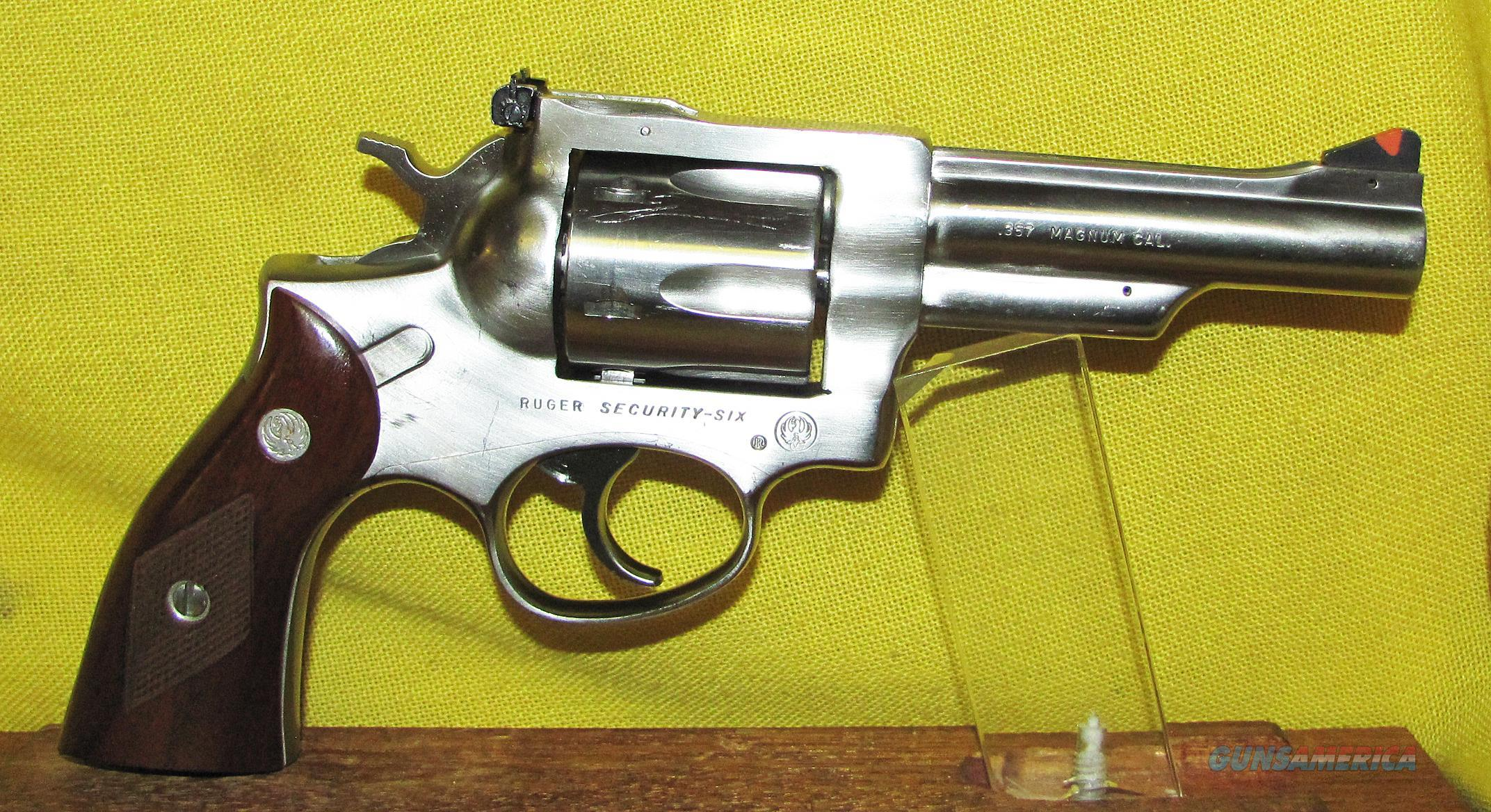 RUGER  SECURITY SIX  Guns > Pistols > Ruger Double Action Revolver > Security Six Type