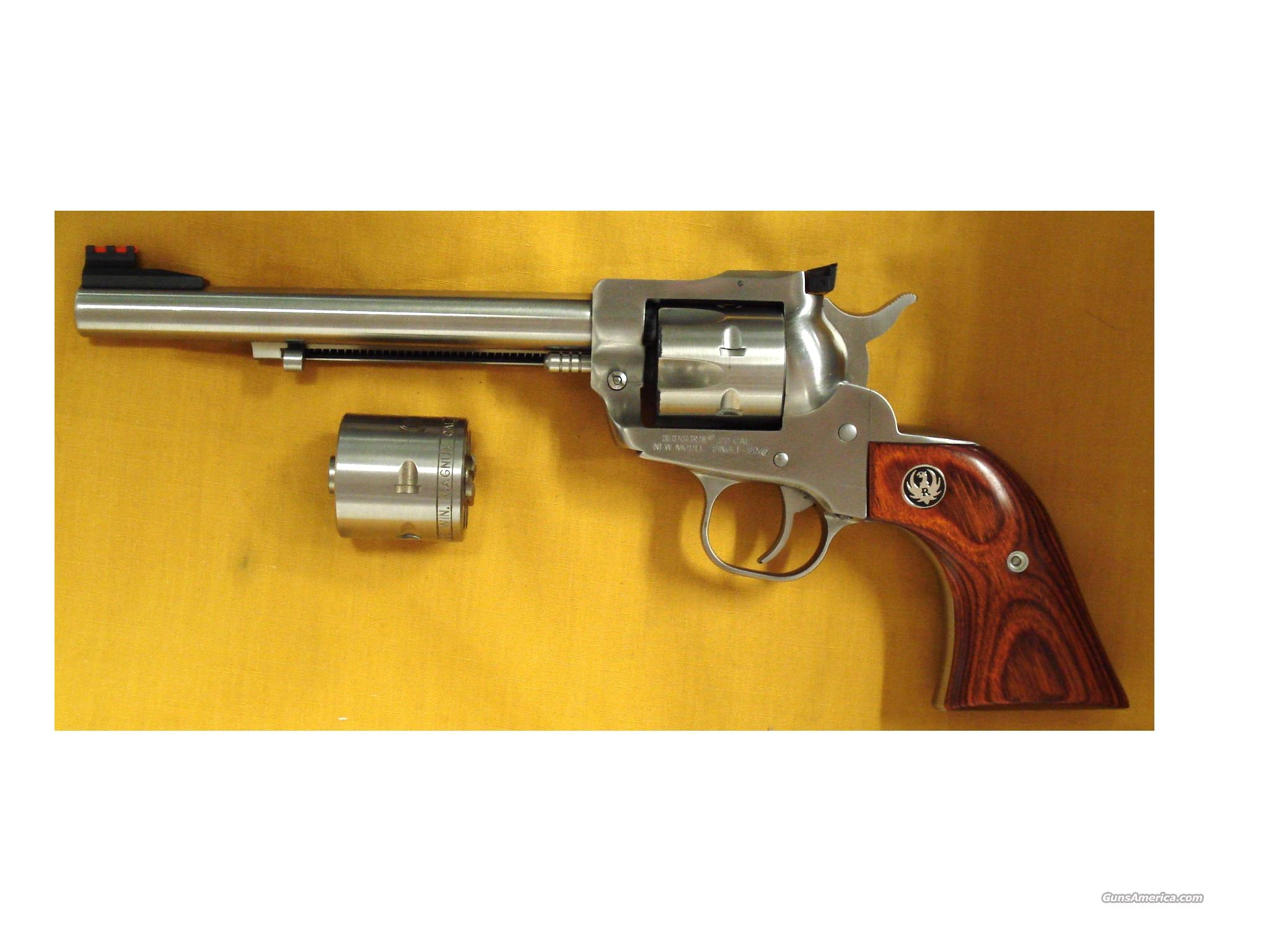 "RUGER SINGLE 6 .22MAG-.22LR 6 1/2"" BBL  Guns > Pistols > Ruger Single Action Revolvers > Single Six Type"