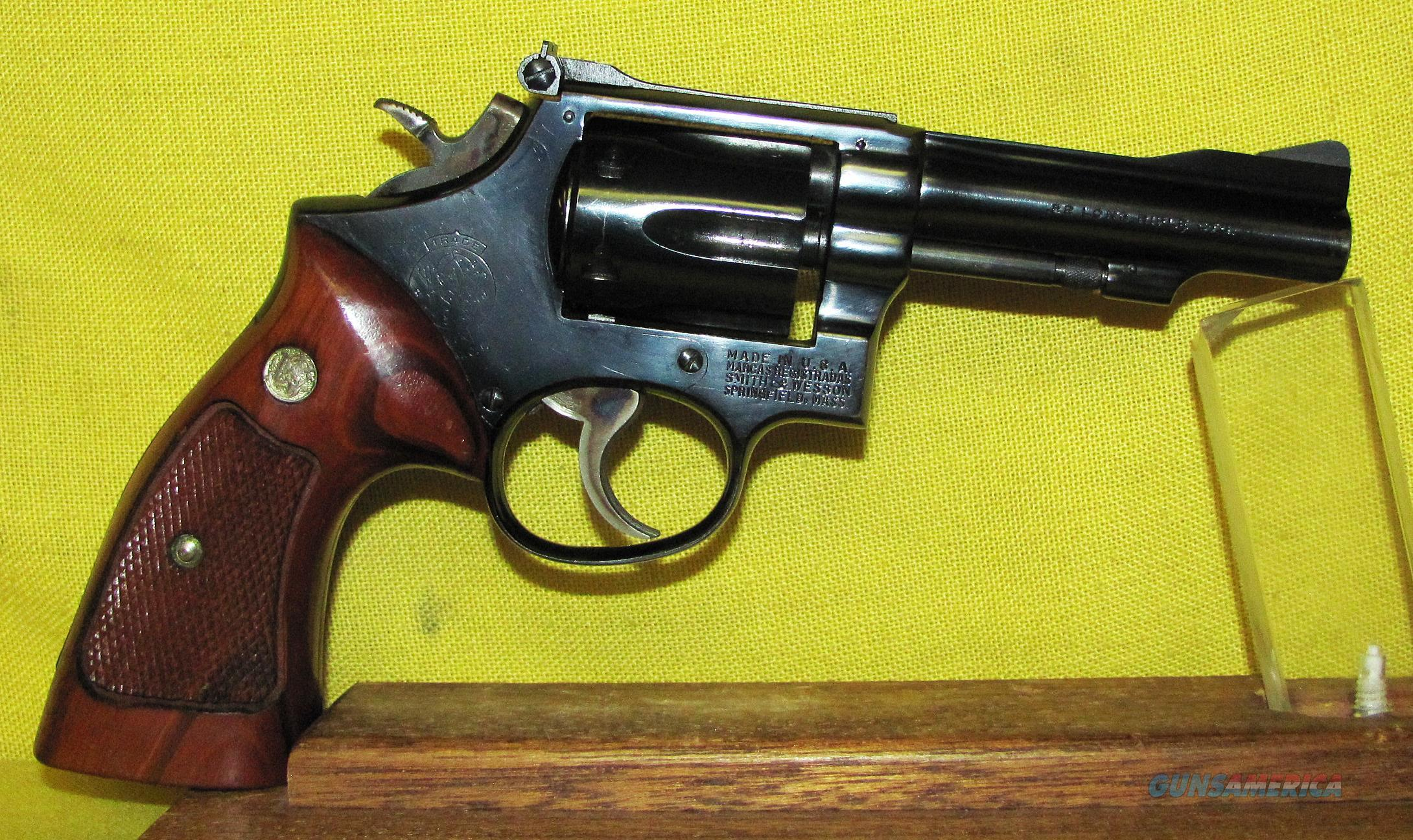 S&W 18-3 (COMBAT MASTER PIECE)  Guns > Pistols > Smith & Wesson Revolvers > Med. Frame ( K/L )