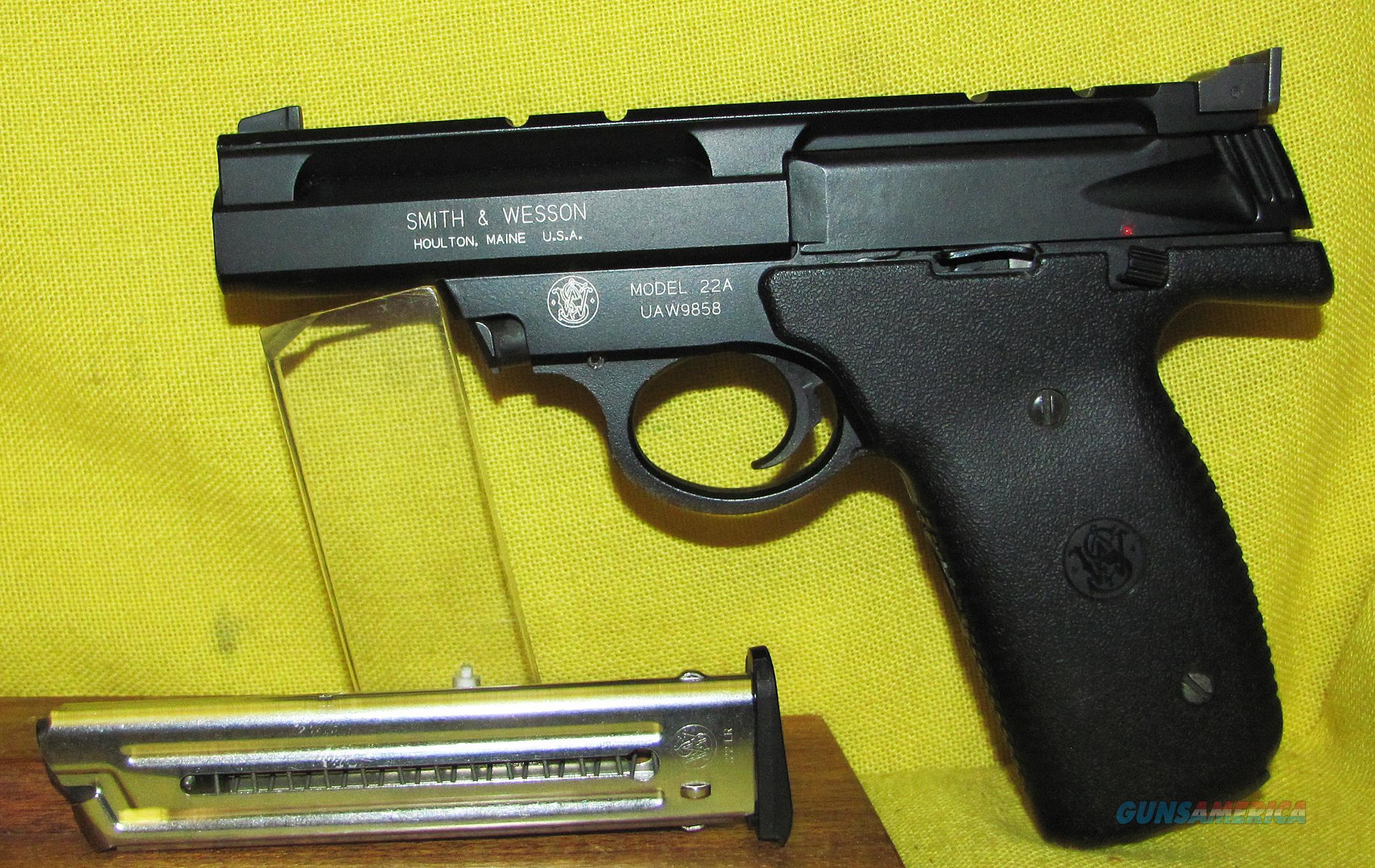 S&W 22A  Guns > Pistols > Smith & Wesson Pistols - Autos > .22 Autos