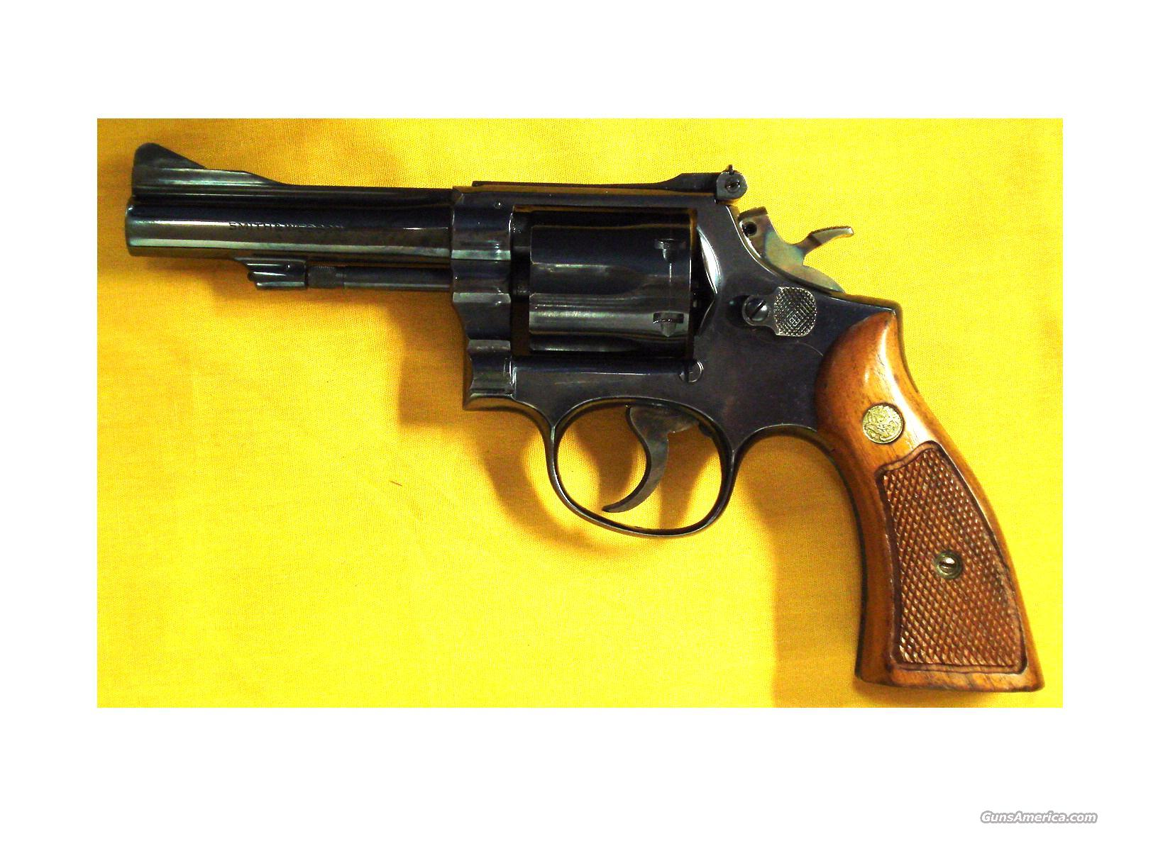 "S&W 15-3 .38SPEC. 4"" BARREL  Guns > Pistols > Smith & Wesson Revolvers > Full Frame Revolver"