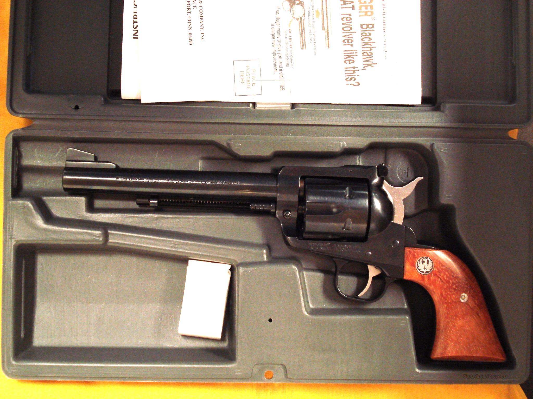 "RUGER NM BLACKHAWK .41 MAG 6 1/2""BBL  Guns > Pistols > Ruger Single Action Revolvers > Blackhawk Type"
